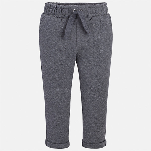 Брюки для девочки MayoralБрюки<br>Характеристики товара:<br><br>• цвет: серый<br>• состав ткани: 86% хлопок, 14% полиэстер<br>• сезон: демисезон<br>• особенности модели: отвороты<br>• пояс: резинка и шнурок<br>• страна бренда: Испания<br>• страна изготовитель: Индия<br><br>Модные брюки для девочки от Майорал помогут обеспечить ребенку комфорт. Такие детские брюки отличаются лаконичным дизайном. В брюках классического силуэта для девочки от испанской компании Майорал ребенок будет выглядеть модно, а чувствовать себя - комфортно. <br><br>Брюки для девочки Mayoral (Майорал) можно купить в нашем интернет-магазине.<br>Ширина мм: 215; Глубина мм: 88; Высота мм: 191; Вес г: 336; Цвет: серый; Возраст от месяцев: 96; Возраст до месяцев: 108; Пол: Женский; Возраст: Детский; Размер: 134,128,122,116,110,104,98; SKU: 6945037;