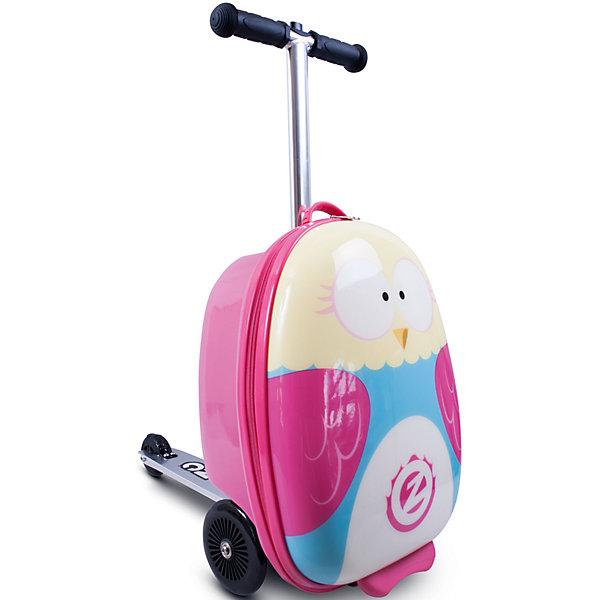 Чемодан-самокат Сова, серия Flyte, ZincДорожные сумки и чемоданы<br><br>Ширина мм: 260; Глубина мм: 330; Высота мм: 480; Вес г: 3600; Возраст от месяцев: 48; Возраст до месяцев: 96; Пол: Унисекс; Возраст: Детский; SKU: 6945445;