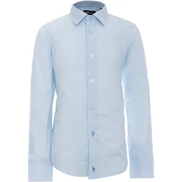 Рубашка для мальчика OrbyБлузки и рубашки<br>Характеристики товара:<br><br>• цвет: голубой<br>• состав ткани: 65 % ПЭ, 35 % хлопок<br>• особенности: школьная, праздничная<br>• длинные рукава<br>• застежка: пуговицы<br>• отложной воротник <br>• сезон: круглый год<br>• страна бренда: Россия<br>• страна изготовитель: Россия<br><br>Голубая рубашка для мальчика Orby - отличный способ разнообразить гардероб. Такая классическая сорочка хорошо дополнит школьную форму. <br><br>Классическая рубашка поможет ребенку выглядеть стильно и чувствовать себя комфортно. Сшита из материала с добавлением натурального хлопка.<br><br>Рубашку для мальчика Orby (Орби) можно купить в нашем интернет-магазине.<br>Ширина мм: 174; Глубина мм: 10; Высота мм: 169; Вес г: 157; Цвет: голубой; Возраст от месяцев: 72; Возраст до месяцев: 84; Пол: Мужской; Возраст: Детский; Размер: 122,170,164,158,152,146,140,134,128; SKU: 6960373;