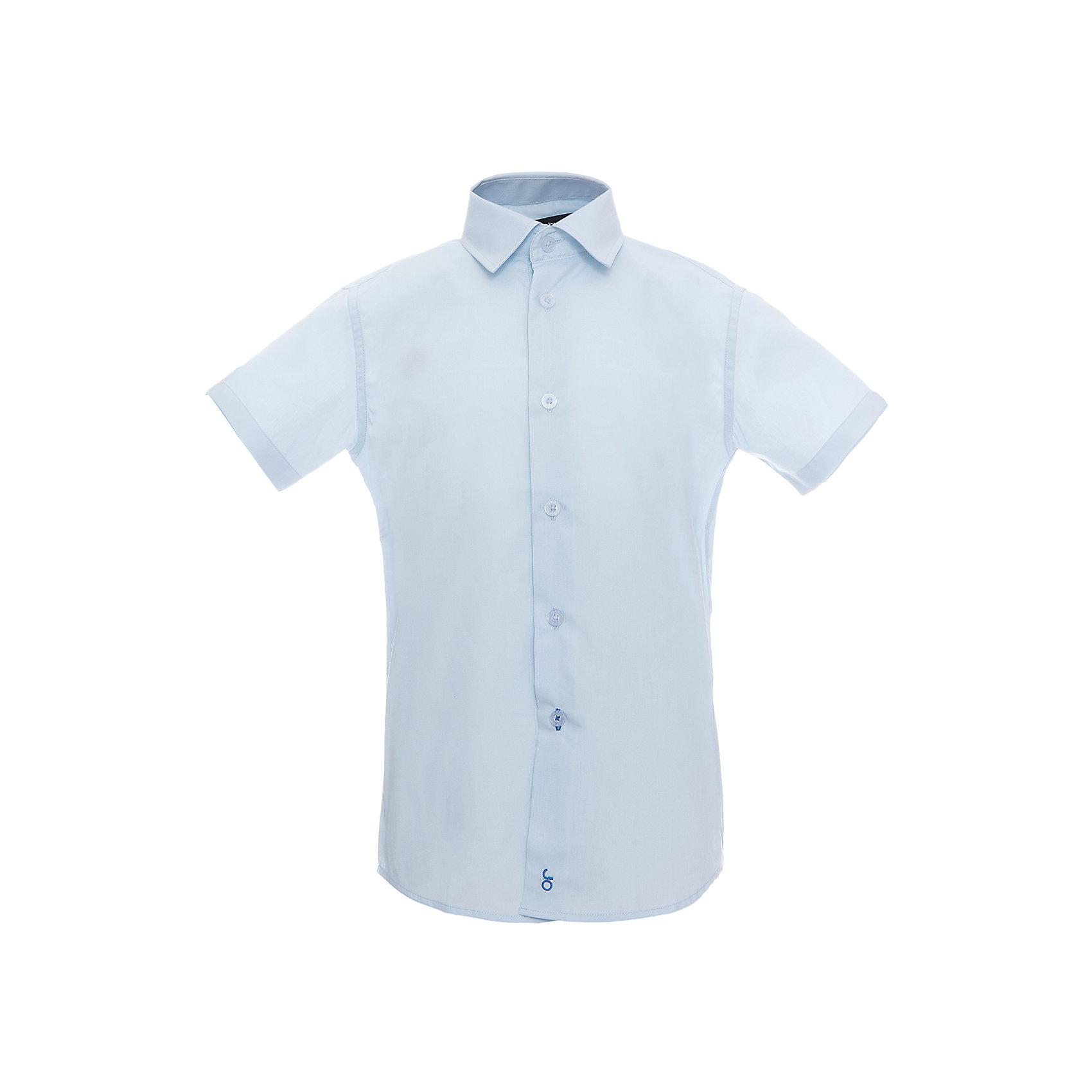 Рубашка для мальчика OrbyБлузки и рубашки<br>Характеристики товара:<br><br>• цвет: голубой<br>• состав ткани: 65 % ПЭ, 35 % хлопок<br>• особенности: школьная, праздничная<br>• короткие рукава<br>• застежка: пуговицы<br>• отложной воротник<br>• сезон: круглый год<br>• страна бренда: Россия<br>• страна изготовитель: Россия<br><br>Голубая рубашка с коротким рукавом для мальчика Orby хорошо дополнит школьную форму. <br><br>Школьная рубашка поможет ребенку выглядеть стильно и чувствовать себя комфортно. Модель сшита из материала с добавлением натурального хлопка. <br><br>Рубашку для мальчика Orby (Орби) можно купить в нашем интернет-магазине.<br><br>Ширина мм: 174<br>Глубина мм: 10<br>Высота мм: 169<br>Вес г: 157<br>Цвет: голубой<br>Возраст от месяцев: 168<br>Возраст до месяцев: 180<br>Пол: Мужской<br>Возраст: Детский<br>Размер: 170,122,128,134,140,146,152,158,164<br>SKU: 6960403