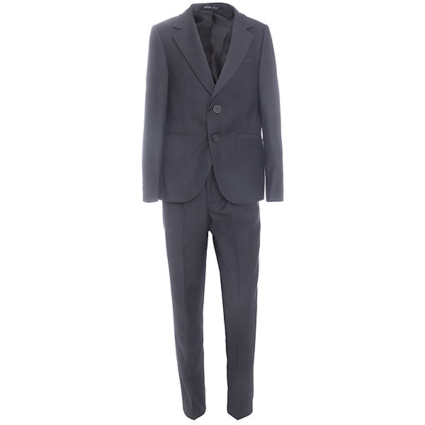 Комплект: пиджак и брюки для мальчика OrbyКостюмы и пиджаки<br>Характеристики товара:<br><br>• цвет: серый<br>• состав ткани: 70 % ПЭ, 30% вискоза<br>• комплектация: пиджак, брюки<br>• особенности: школьная, праздничная<br>• застежка пиджака: пуговицы<br>• застежка брюк: молния<br>• регулируемая талия брюк<br>• шлевки для ремня<br>• сезон: круглый год<br>• страна бренда: Россия<br>• страна изготовитель: Россия<br><br>Костюм классического кроя  Orby для мальчика - отличный вариант практичной и стильной школьной одежды. <br><br>Детский костюм-двойка поможет ребенку выглядеть стильно и соответствовать школьному дресс-коду.<br><br>Комплект: пиджак и брюки для мальчика Orby (Орби) можно купить в нашем интернет-магазине.<br>Ширина мм: 215; Глубина мм: 88; Высота мм: 191; Вес г: 336; Цвет: серый; Возраст от месяцев: 72; Возраст до месяцев: 84; Пол: Мужской; Возраст: Детский; Размер: 122,164,158,152,146,140,134,128; SKU: 6960939;