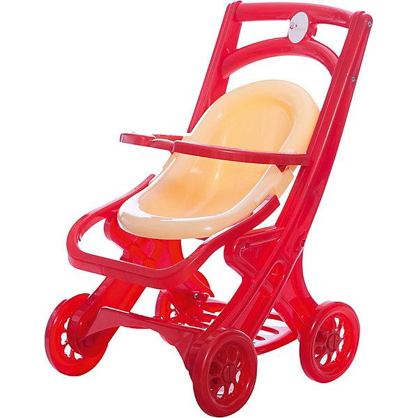 Коляска для кукол «2 в 1», красно-бежевая, DoloniТранспорт и коляски для кукол<br>Характеристики товара:<br><br>• возраст: от 3 лет;<br>• материал: пластик;<br>• размер коляски: 48х58х25 см;<br>• размер люльки: 40х22 см;<br>• диаметр колес: 14 см;<br>• размер упаковки: 57х38х29 см;<br>• вес упаковки: 1,14 кг;<br>• страна производитель: Украина.<br><br>Коляска для кукол 2 в 1 Doloni красно-бежевая — универсальная коляска для любимых кукол девочки. С ней можно отправиться на прогулку вместе с куклой. Коляска легко трансформируется из прогулочного блока в люльку для сна и отдыха. Рама коляски оснащена корзиной для вещей или игрушек. Игрушка изготовлена из качественного безвредного пластика.<br><br>Коляску для кукол 2 в 1 Doloni красно-бежевую можно приобрести в нашем интернет-магазине.<br>Ширина мм: 380; Глубина мм: 290; Высота мм: 570; Вес г: 1140; Возраст от месяцев: 36; Возраст до месяцев: 2147483647; Пол: Женский; Возраст: Детский; SKU: 6963504;