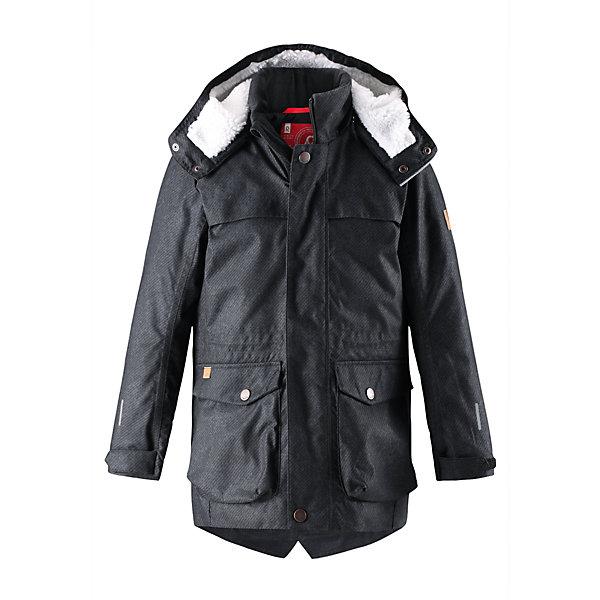 Купить Куртка Reima Pentti для мальчика, Китай, черный, 104, 164, 158, 152, 146, 140, 134, 128, 122, 116, 110, Мужской