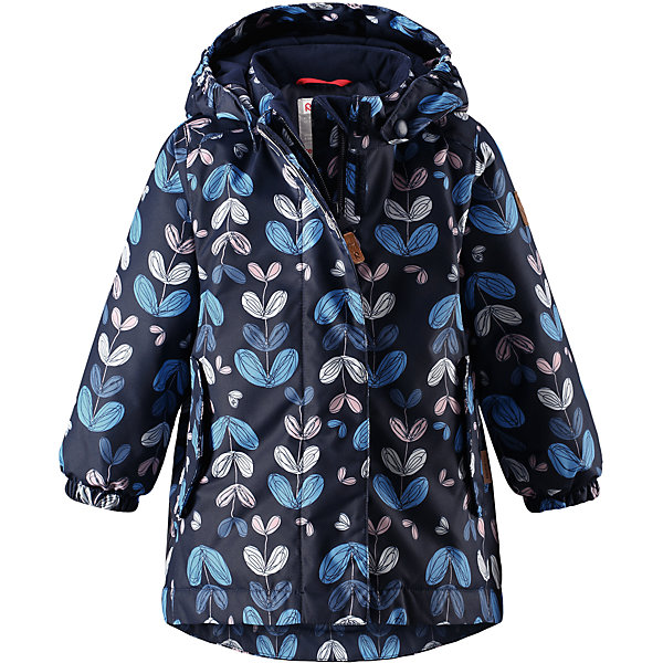 Куртка Reimatec® Reima Ohra для девочкиОдежда<br>Характеристики товара:<br><br>• цвет: синий;<br>• состав: 100% полиэстер;<br>• подкладка: 100% полиэстер;<br>• утеплитель: 160 г/м2;<br>• сезон: демисезон, зима;<br>• температурный режим: от 0 до -20С;<br>• водонепроницаемость: 8000 мм;<br>• воздухопроницаемость: 10000 мм;<br>• износостойкость: 30000 циклов (тест Мартиндейла);<br>• водо- и ветронепроницаемый, дышащий и грязеотталкивающий материал;<br>• основные швы проклеены и водонепроницаемы;<br>• застежка: молния с защитой подбородка;<br>• гладкая подкладка из полиэстера;<br>• безопасный, съемный капюшон;<br>• эластичные манжеты;<br>• два кармана с кнопками;<br>• светоотражающие детали;<br>• страна бренда: Финляндия;<br>• страна изготовитель: Китай.<br><br>Основные швы в куртке проклеены, а сама она изготовлена из водо и ветронепроницаемого, грязеотталкивающего материала. Гладкая подкладка и молния во всю длину облегчают надевание. Съемный капюшон защищает от ветра, к тому же он абсолютно безопасен – легко отстегнется, если вдруг за что-нибудь зацепится. Маленькие карманы на молнии надежно сохранят все сокровища.<br><br>Куртку Reimatec® Reima Ohra от финского бренда Reima (Рейма) можно купить в нашем интернет-магазине.<br><br>Ширина мм: 356<br>Глубина мм: 10<br>Высота мм: 245<br>Вес г: 519<br>Цвет: синий<br>Возраст от месяцев: 12<br>Возраст до месяцев: 15<br>Пол: Женский<br>Возраст: Детский<br>Размер: 80,98,92,86<br>SKU: 6968457