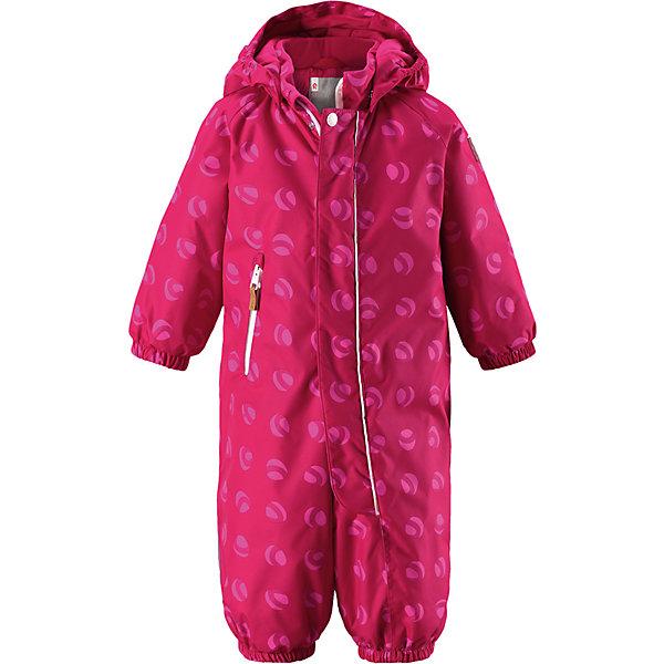 Комбинезон Reimatec® Reima Puhuri для девочкиОдежда<br>Характеристики товара:<br><br>• цвет: розовый принт<br>• состав: 100% полиэстер<br>• утеплитель: 160 г/м2 (soft loft insulation)<br>• сезон: зима<br>• температурный режим: от 0 до -20С<br>• водонепроницаемость: 8000 мм<br>• воздухопроницаемость: 10000 мм<br>• износостойкость: 30000 циклов (тест Мартиндейла)<br>• особенности модели: с рисунком<br>• основные швы проклеены и не пропускают влагу<br>• водо- и ветронепроницаемый, дышащий и грязеотталкивающий материал<br>• утепленная задняя часть изделия<br>• гладкая подкладка из полиэстера<br>• безопасный, съемный капюшон<br>• защита подбородка от защемления<br>• эластичные манжеты и штанины<br>• внутренняя регулировка обхвата талии<br>• съемные эластичные штрипки <br>• длинная молния для легкого надевания<br>• карман на молнии<br>• светоотражающие детали<br>• страна бренда: Финляндия<br>• страна изготовитель: Китай<br><br>Зимний комбинезон на молнии для малышей! Основные швы комбинезона проклеены, а сам он изготовлен из водо и ветронепроницаемого, грязеотталкивающего материала. Утепленная задняя часть обеспечит дополнительное утепление во время игр в снегу.<br><br>Гладкая подкладка и длинная молния облегчают надевание, а талия в комбинезоне регулируется. Маленький карман на молнии надежно сохранит все сокровища. Зимний комбинезон с капюшоном для мальчика декорирован рисунком с мячиками.<br><br>Комбинезон Puhuri Reimatec® Reima от финского бренда Reima (Рейма) можно купить в нашем интернет-магазине<br>Ширина мм: 356; Глубина мм: 10; Высота мм: 245; Вес г: 519; Цвет: розовый; Возраст от месяцев: 6; Возраст до месяцев: 9; Пол: Женский; Возраст: Детский; Размер: 74,98,92,86,80; SKU: 6968507;