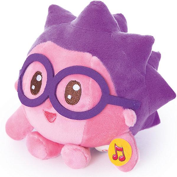 Мягкая игрушка Ежик, Малышарики, 15см, со звуком, Мульти-пультиМягкие игрушки из мультфильмов<br>Характеристики товара:<br><br>• размер игрушки: 15 см;<br>• звуковые эффекты;<br>• материал: текстиль, наполнитель, металл;<br>• размер упаковки: 26х9х19 см;<br>• вес: 130 грамм;<br>• возраст: от 2 лет.<br><br>Игрушка «Мульти-Пульти» выполнена в виде Ёжика из мультфильма «Малышарики». Если нажать на животик, Ёжик произнесет некоторые фразы из мультфильма. Игрушка изготовлена из приятного на ощупь материала и мягкого наполнителя. Размер игрушки - 15 сантиметров. Такого Малышарика очень удобно взять с собой на прогулку.<br><br>Мягкую игрушку Ежик, Малышарики, 15см, со звуком, Мульти-Пульти можно купить в нашем интернет-магазине.<br><br>Ширина мм: 23<br>Глубина мм: 13<br>Высота мм: 24<br>Вес г: 130<br>Возраст от месяцев: 24<br>Возраст до месяцев: 60<br>Пол: Унисекс<br>Возраст: Детский<br>SKU: 6970777