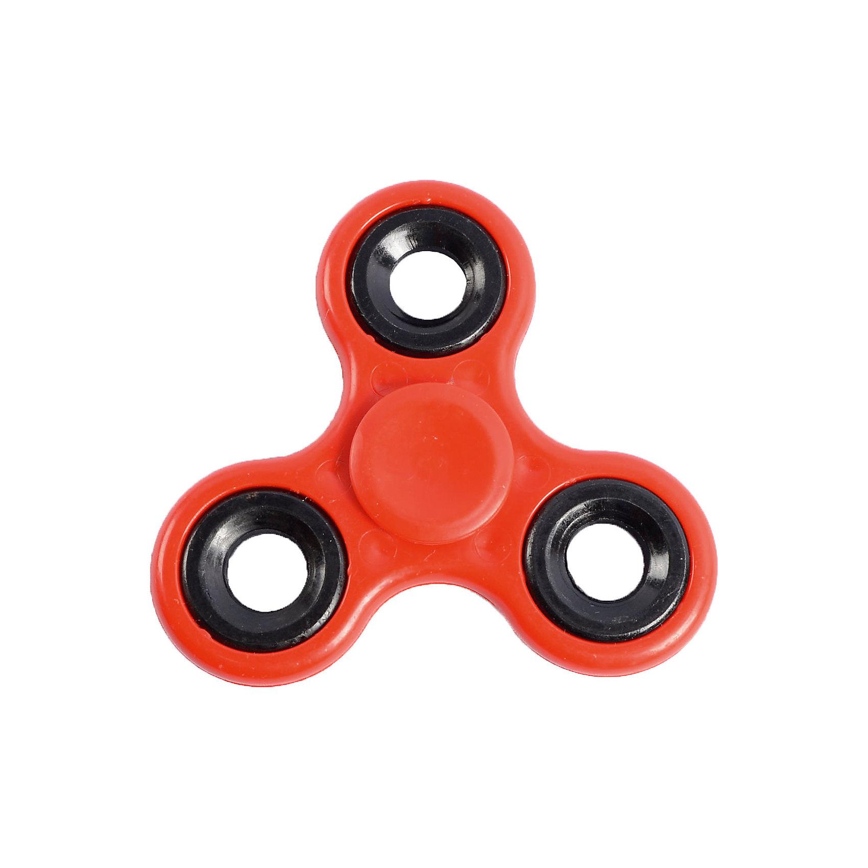 Спиннер для рук, красный, маленький подшипник, Fidget SpinnerИгрушки-антистресс<br>Характеристики товара:<br><br>• цвет: красный;<br>• материал: пластик, металл;<br>• размер упаковки: 7х7х7 см;<br>• вес: 50 грамм;<br>• возраст: от  3лет.<br><br>Игрушка спиннер отлично подойдет для людей, которые любят покрутить что-нибудь в руках. Gyro Spinner состоит из маленького подшипника и трех лопастей, имеющих крестообразное расположение. <br><br>Чтобы спиннер начал крутиться, нужно запустить его, держась за центральный подшипник. Движения спиннера плавные, равномерные и практически бесшумные. Игра со спиннером способствует развитию моторики рук, а также помогает успокоиться и расслабиться. Небольшой размер спиннера удобен, чтобы всегда брать игрушку с собой. Крутить его можно на учебе, на работе, в метро и в любом удобном месте.<br><br>Спиннер для рук, красный, маленький подшипник, Fidget Spinner (Фиджет Спиннер) можно купить в нашем интернет-магазине.<br><br>Ширина мм: 70<br>Глубина мм: 70<br>Высота мм: 70<br>Вес г: 50<br>Возраст от месяцев: 36<br>Возраст до месяцев: 2147483647<br>Пол: Унисекс<br>Возраст: Детский<br>SKU: 6970790