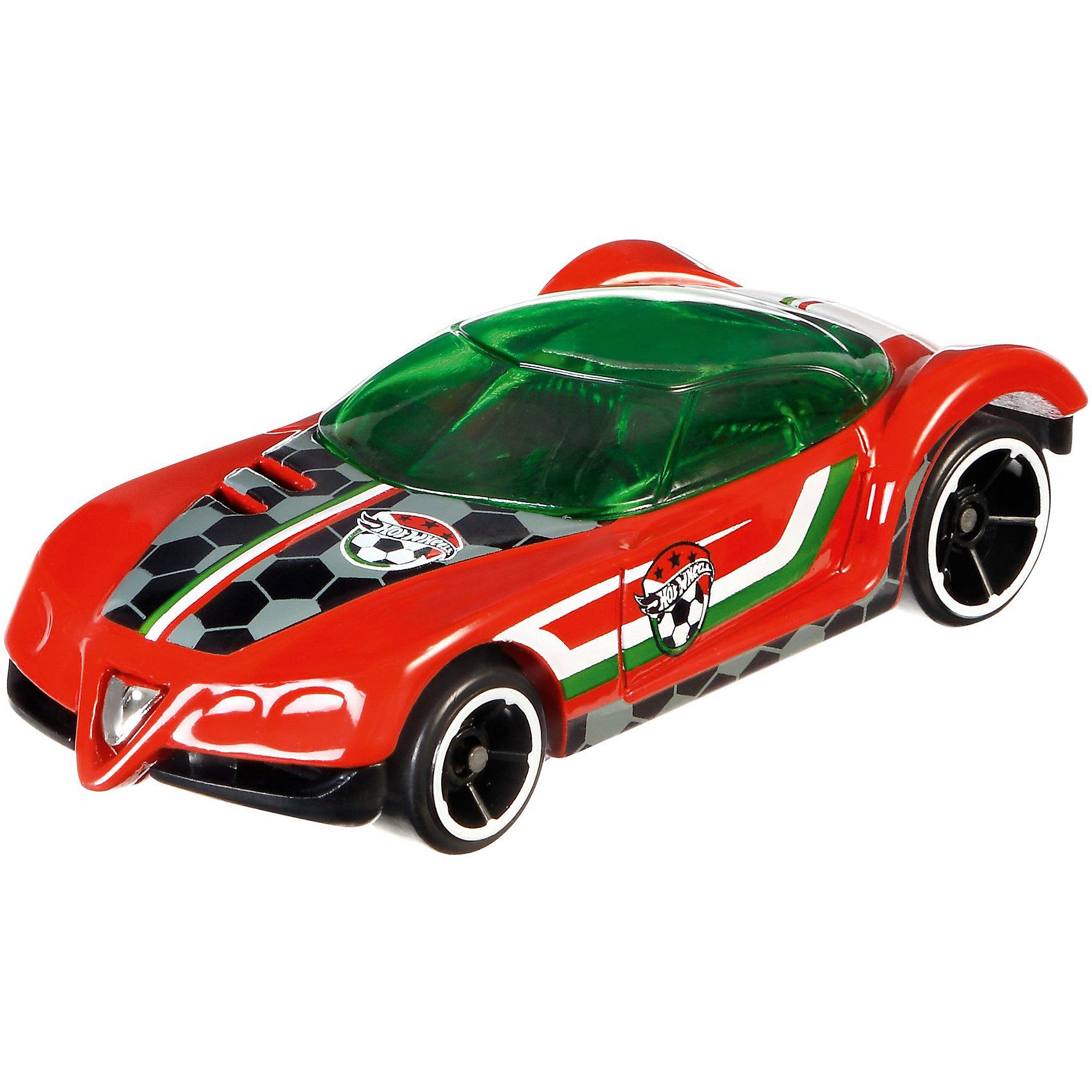 Коллекционная машинкаHot Wheels Golden ArrowКубок УЕФА, 1:64Машинки<br>Характеристики товара:<br><br>• возраст: от 3 лет;<br>• материал: пластик;<br>• в комплекте: машинка;<br>• длина машинки: 7 см;<br>• масштаб: 1:64;<br>• размер упаковки: 16,5х11х3,5 см;<br>• вес упаковки: 37 гр.;<br>• страна производитель: Тайланд.<br><br>Коллекционная машинка Golden Arrow Кубок УЕФА Hot Wheels создана специально в стиле футбольных команд-участниц Чемпионата Европы 2016. Машинка украшена логотипом одной из команд. Игрушка выполнена из качественного безопасного пластика.<br><br>Коллекционную машинку Golden Arrow Кубок УЕФА Hot Wheels можно приобрести в нашем интернет-магазине.<br><br>Ширина мм: 167<br>Глубина мм: 106<br>Высота мм: 20<br>Вес г: 37<br>Возраст от месяцев: 36<br>Возраст до месяцев: 72<br>Пол: Мужской<br>Возраст: Детский<br>SKU: 6973976