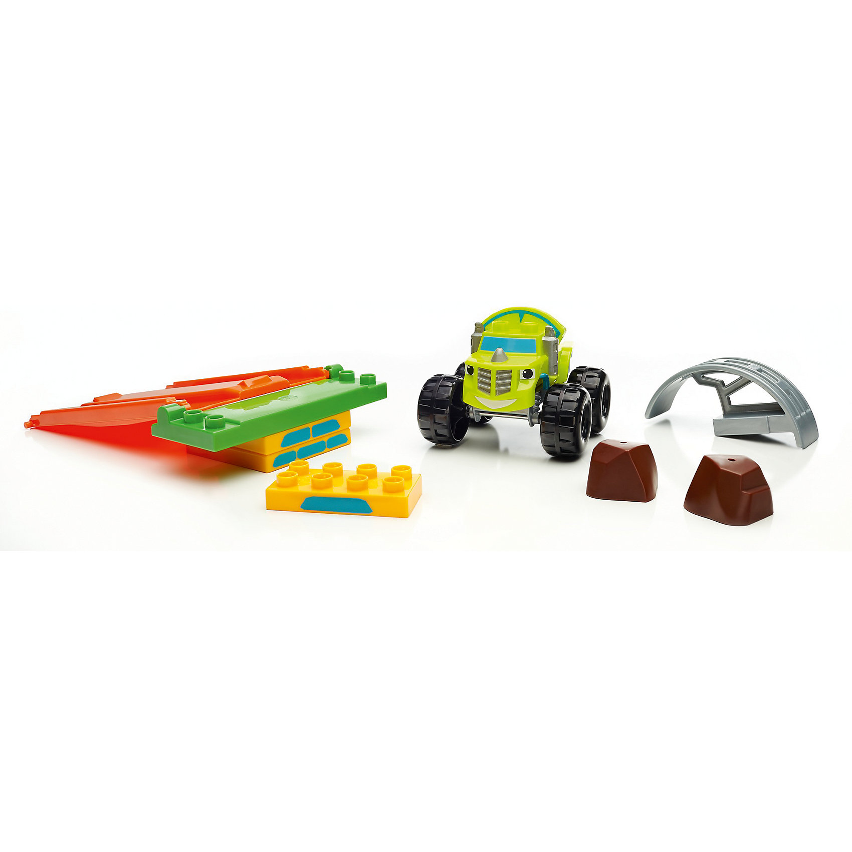 Монстр - трак, MEGA BLOKS, Вспыш и чудо-машинкиПластмассовые конструкторы<br>Характеристики товара:<br><br>• возраст: от 3 лет;<br>• материал: пластик;<br>• в комплекте: 12 деталей;<br>• размер упаковки: 20,5х20,5х4,5 см;<br>• вес упаковки: 225 гр.;<br>• страна производитель: Китай.<br><br>Конструктор «Монстр-трак» Mega Bloks Вспыш и чудо-машинки создан по мотивам известного детского мультсериала. Из деталей конструктора собирается любимый персонаж, а также установка для выполнения трюков с машинкой. Все элементы выполнены из качественного безопасного пластика. В процессе сборки у малышей развивается мелкая моторика рук, внимательность, логическое мышление.<br><br>Конструктор «Монстр-трак» Mega Bloks Вспыш и чудо-машинки можно приобрести в нашем интернет-магазине.<br><br>Ширина мм: 45<br>Глубина мм: 205<br>Высота мм: 205<br>Вес г: 225<br>Возраст от месяцев: 36<br>Возраст до месяцев: 84<br>Пол: Мужской<br>Возраст: Детский<br>SKU: 6975230
