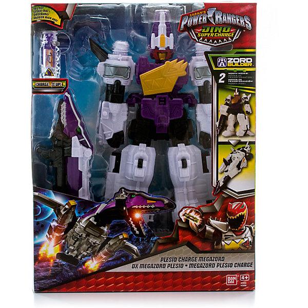 Диномегазорд DX, белый, BANDAIФигурки из мультфильмов<br>Характеристики:<br><br>• тип игрушки: робот;<br>• возраст: от 3 лет;<br>• размер: 9х26х33 см;<br>• комплектация: мегазорд, дино-заря;<br>• материал: пластик;<br>• упаковка: картонная коробка блистерного типа;<br>• бренд: Bandai;<br>• страна производства: Китай.<br><br>Диномегазорд DX, белый, BANDAI порадует всех юных любителей популярного сериала для детей Power Rangers. Такого трансформера можно без труда разобрать на нескольких роботов, похожих на рептилий. Дино Мегазорд хорошо обучен и оснащен дино-зарядом, благодаря чему он сможет эффективно бороться со своими врагами. Мальчику предстоит помочь рейнджеру в этом начинании. Все элементы игрушки выполнены из качественного, безвредного для ребенка пластика.<br><br>Детали от этого робота можно соединять с другими игрушками из серии Zord Builder, благодаря чему ребенок сможет создать своего уникального рейнджера. Моделирование трансформера поможет развивать усидчивость и логическое мышление у ребенка. Дино Мегазорд позволит мальчику разыгрывать различные сцены из любимого сериала.<br><br>Диномегазорд DX, белый, BANDAI можно купить в нашем интернет-магазине.<br>Ширина мм: 89; Глубина мм: 330; Высота мм: 254; Вес г: 1020; Возраст от месяцев: 48; Возраст до месяцев: 2147483647; Пол: Мужской; Возраст: Детский; SKU: 6976858;
