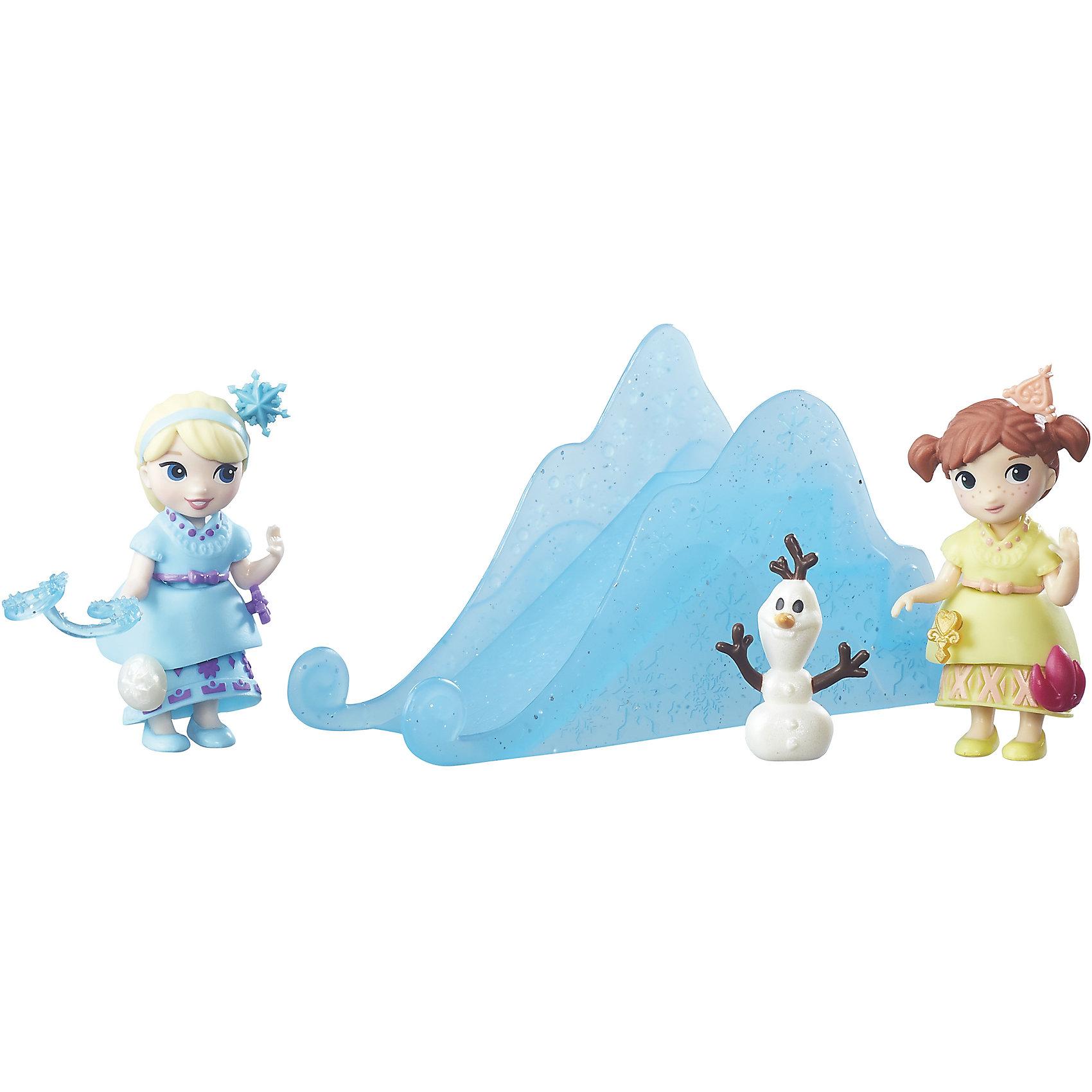 Игровой набор герои Холодное сердце, Hasbro, B5191/B7468Игровые наборы фигурок<br>Характеристики:<br><br>• возраст: от 4 лет;<br>• материал: пластик;<br>• в комплекте: 2 куклы, аксессуары;<br>• размер упаковки: 22,9х19,7х6 см;<br>• вес упаковки: 308 гр.;<br>• страна производитель: Китай.<br><br>Игровой набор «Герои Холодное сердце» Hasbro создан по мотивам известного мультфильма Дисней про принцесс Анну и Эльзу. В наборе можно встретить 2 главных героинь, а также набор аксессуаров, который позволит придумать множество сюжетов для игр или воспроизвести любимые сценки из мультфильма.<br><br>Игровой набор «Герои Холодное сердце» Hasbro можно приобрести в нашем интернет-магазине.<br><br>Ширина мм: 229<br>Глубина мм: 197<br>Высота мм: 60<br>Вес г: 308<br>Возраст от месяцев: 48<br>Возраст до месяцев: 96<br>Пол: Женский<br>Возраст: Детский<br>SKU: 6979805