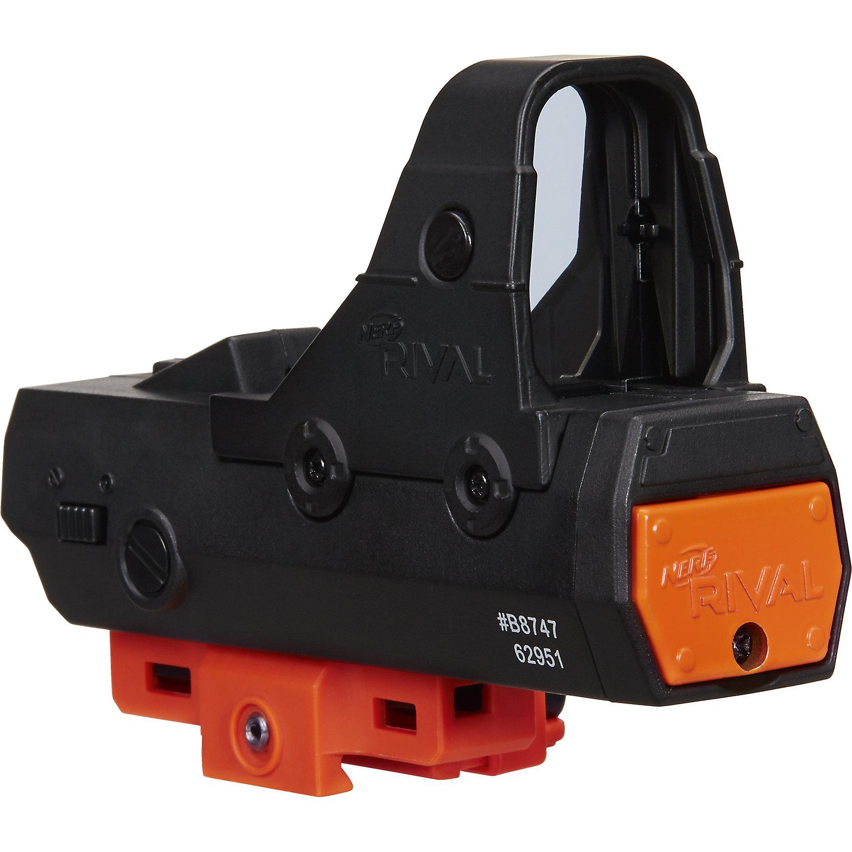 Аксессуар для бластера Райвал, Nerf, Hasbro, B8232/B8747Бластеры, пистолеты и прочее<br>Характеристики:<br><br>• возраст: от 14 лет;<br>• материал: пластик;<br>• тип батареек: 2 батарейки ААА;<br>• наличие батареек: в комплект не входят;<br>• размер упаковки: 19,7х15,2х4,8 см;<br>• вес упаковки: 680 гр.;<br>• страна производитель: Китай.<br><br>Аксессуар для бластера «Райвал» Nerf Hasbro разработан специально для бластеров Nerf и поможет улучшить его функции и технические характеристики. Он представляет собой световой прицел для лучшего наведения на цель.<br><br>Аксессуар для бластера «Райвал» Nerf Hasbro можно приобрести в нашем интернет-магазине.<br><br>Ширина мм: 48<br>Глубина мм: 152<br>Высота мм: 197<br>Вес г: 680<br>Возраст от месяцев: 168<br>Возраст до месяцев: 2147483647<br>Пол: Унисекс<br>Возраст: Детский<br>SKU: 6979816
