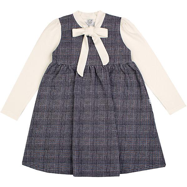 Платье Апрель для девочкиПлатья и сарафаны<br>Характеристики товара:<br><br>• цвет: серый/молочный;<br>• состав: 95% хлопок, 5% лайкра;<br>• сезон: демисезон;<br>• декоративный бантик;;<br>• застежка: молния сзади;<br>• с длинным рукавом;<br>• особенности: школьное, в клетку;<br>• страна бренда: Россия;<br>• страна производства: Россия.<br><br>Школьное платье с длинным рукавом для девочки. Серое платье в клетку. Воротничок и рукава контрастного белого цвета.<br><br>Платье для девочки Апрель можно купить в нашем интернет-магазине.<br>Ширина мм: 236; Глубина мм: 16; Высота мм: 184; Вес г: 177; Цвет: черный; Возраст от месяцев: 96; Возраст до месяцев: 108; Пол: Женский; Возраст: Детский; Размер: 134,122,146,128; SKU: 6981069;