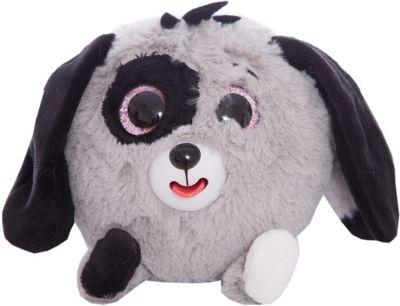 Мягкая игрушка Собачка Дразнюка-Zooка , серая, 13см, 1Toy