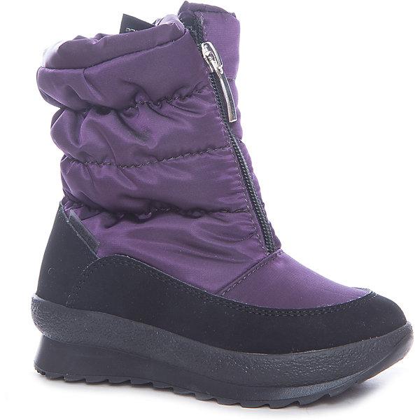 Сапоги Alaska Originale для девочкиДутики<br>Характеристики товара:<br><br>• цвет: фиолетовый<br>• внешний материал: текстиль<br>• внутренний материал: натуральная шерсть/искусственный мех<br>• стелька: натуральная шерсть/искусственный мех<br>• подошва: полимер<br>• сезон: зима<br>• мембранные<br>• водонепроницаемая пропитка верха<br>• температурный режим: от -30 до 0<br>• защита мыса<br>• подошва не скользит<br>• застежка: молния<br>• анатомические <br>• страна бренда: Испания<br>• страна изготовитель: Румыния <br><br>Обращаем ваша внимание, что во всех сапогах Alaska Originale до 27 размера включительно внутренний материал – натуральная шерсть, начиная с 28 размера – искусственный мех.<br><br>Сапоги Alaska Originale для девочки благодаря мембранной технологии помогут сохранить ноги в тепле, не позволяя им промокнуть. Такие сапоги дополнены легкой нескользящей подошвой и удобной застежкой.<br><br>В любой модели обуви Alaska Originale проработаны все детали для обеспечения высокой степени комфорта. Обувь от итальянской компании Аляска Ориджинал - это высокотехнологичное производство и европейский дизайнеры. <br><br>Сапоги Alaska Originale для девочки (Аляска Ориджинал) можно купить в нашем интернет-магазине.<br><br>Ширина мм: 257<br>Глубина мм: 180<br>Высота мм: 130<br>Вес г: 420<br>Цвет: лиловый<br>Возраст от месяцев: 24<br>Возраст до месяцев: 24<br>Пол: Женский<br>Возраст: Детский<br>Размер: 25,27<br>SKU: 6984609
