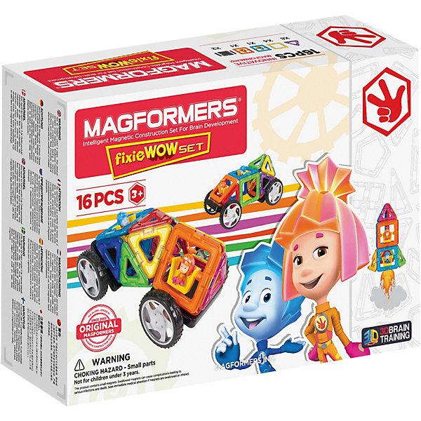 Купить Магнитный конструктор Fixie Wow set, MAGFORMERS, Китай, Унисекс