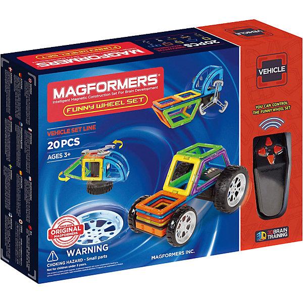 Магнитный конструктор Funny Wheel Set 20, MAGFORMERSМагнитные конструкторы<br><br>Ширина мм: 380; Глубина мм: 280; Высота мм: 100; Вес г: 1250; Возраст от месяцев: 36; Возраст до месяцев: 2147483647; Пол: Унисекс; Возраст: Детский; SKU: 6992492;