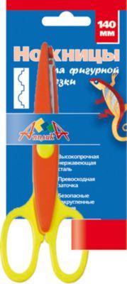 АппликА Ножницы детские для фигурной резки 140 мм. Хижина фото-1