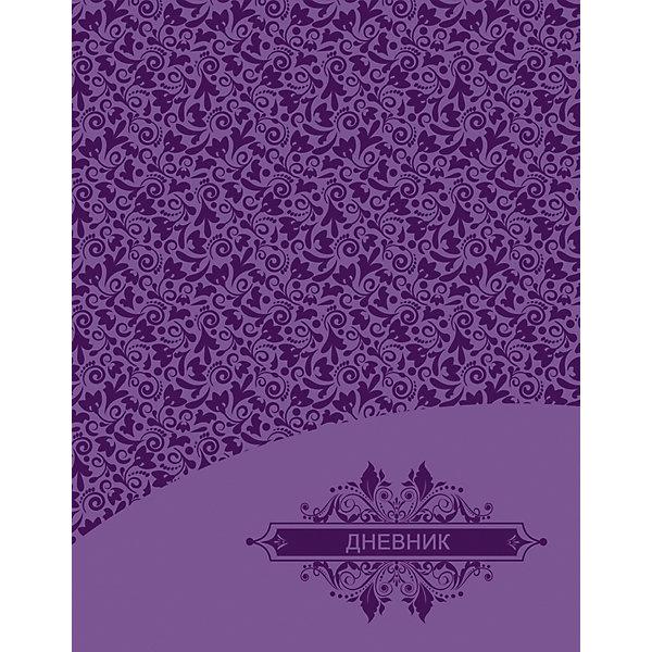 Дневник. Универсальный блок, тиснение - Узор.Бумажная продукция<br>Характеристики товара:<br><br>• возраст: от 6 лет;<br>• цвет: фиолетовый;<br>• формат: А5;<br>• количество листов: 48;<br>• разметка: в линейку;<br>• бумага: офсетная;<br>• переплет: интегральный;<br>• обложка: исскуственная кожа, картон;<br>• размер: 21,5х17х0,5 см.;<br>• вес: 210 гр.;<br>• страна бренда: Россия;<br>• страна изготовитель: Россия.<br><br>Дневник, универсальный блок, «Узор» - школьный дневник 1-11 классы, имеет сшитый внутренний блок, состоящий из 48 листов белой бумаги (плотность 70г/кв.м.) с линовкой синего цветаи тиснением из фольги. Снабжен резинкой, что поможет быстро открыть нужную страницу. Прочная и приятная на ощупь обложка выполнена из высококачественной искусственной кожи с рисунком.<br><br>Первая страница дневника представляет собой анкету для личных данных владельца, также на ней указаны телефоны экстренной помощи. На следующих страницах находятся список преподавателей, список преподавателей,  расписание кружков, секций и факультативов, заметки классного руководителя и учителей. На последних страницах дневника имеются сведения о заданиях на каникулы, список литературы для чтения, сведения об успеваемости и поведении ребенка за учебный год, список одноклассников и справочный материал по различным предметам.<br><br>Дневник, универсальный блок, «Узор», 48 листов, можно купить в нашем интернет-магазине.<br>Ширина мм: 215; Глубина мм: 170; Высота мм: 5; Вес г: 213; Возраст от месяцев: 36; Возраст до месяцев: 216; Пол: Унисекс; Возраст: Детский; SKU: 6992538;