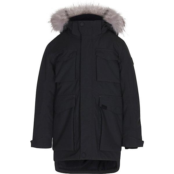 Куртка MOLOВерхняя одежда<br>Характеристики товара:<br><br>• цвет: черный<br>• состав ткани: 100% полиамид<br>• подкладка: 100% полиэстер<br>• утеплитель: 100% полиэстер <br>• сезон: зима<br>• температурный режим: от -25 до 0<br>• особенности модели: с капюшоном<br>• водонепроницаемость: 10000 мм <br>• паропроницаемость: 8000 г/м2<br>• застежка: молния, кнопка<br>• капюшон: с мехом<br>• страна бренда: Дания<br>• страна изготовитель: Китай<br><br>Практичная куртка для детей Molo не промокает и не продувается ветром. Детская куртка отличается легким наполнителем, который обеспечивает комфортную температуру в мороз. Теплая куртка для ребенка дополнена карманами и капюшоном. <br><br>Куртку Molo (Моло) можно купить в нашем интернет-магазине.<br><br>Ширина мм: 356<br>Глубина мм: 10<br>Высота мм: 245<br>Вес г: 519<br>Цвет: черный<br>Возраст от месяцев: 84<br>Возраст до месяцев: 96<br>Пол: Мужской<br>Возраст: Детский<br>Размер: 128,176,164,152,146,140,134<br>SKU: 6994928