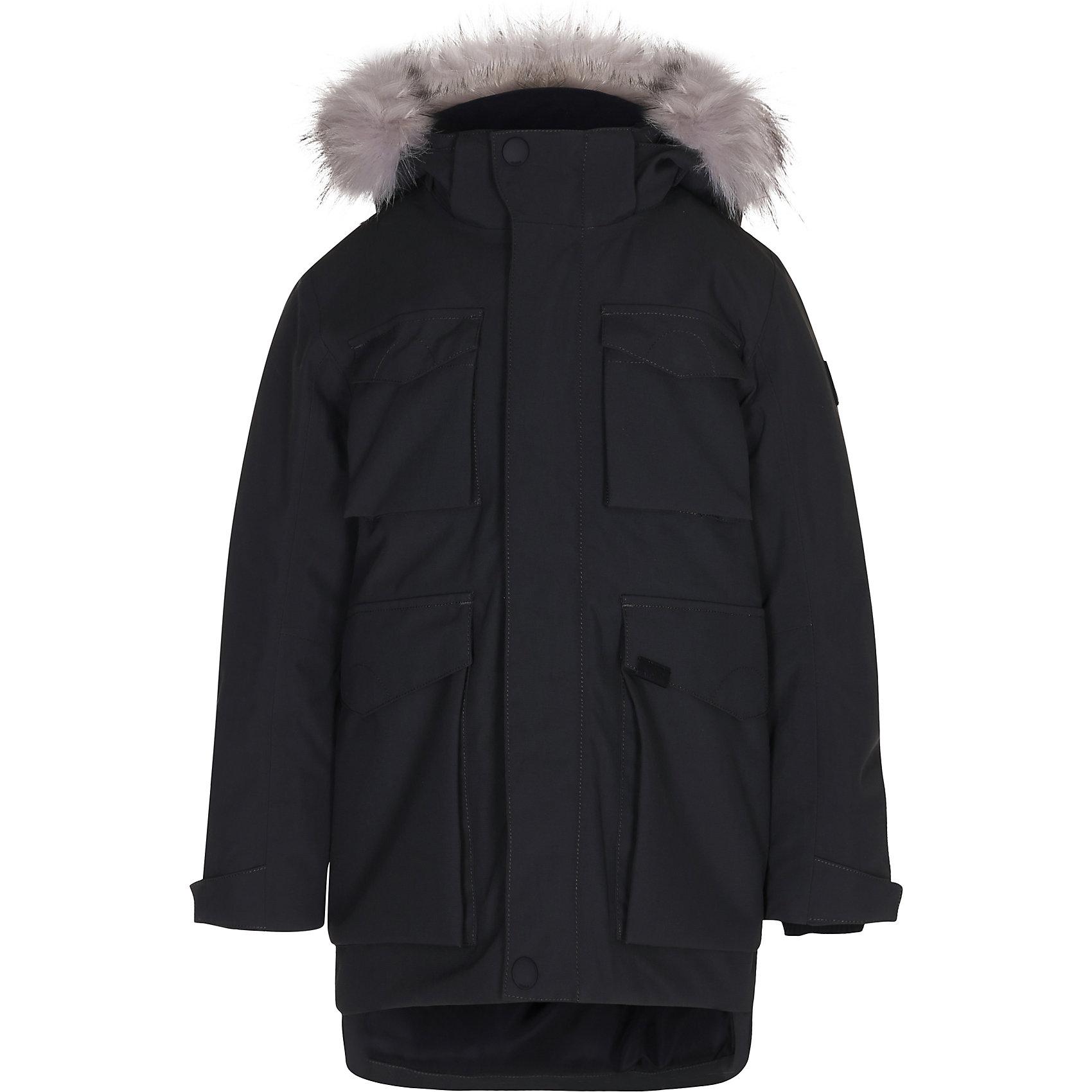 Куртка MOLOВерхняя одежда<br>Зимняя куртка Molo<br>• состав: 100% нейлон, 100% полиэстер<br>• температурный режим: 0° до -25° градусов<br>• утеплитель:  ThinsulateTM  прекрасно сохраняющий тепло,  позволяет телу дышать и остается при этом сухим и легким<br>• водонепроницаемость: 10 000 мм<br>• отвод влаги: 8 000 г/м2/24ч<br>• основные швы проклеены<br>• съёмный капюшон<br>• удобные молнии<br>• «дышащий» материал<br>• ветро- водо- и грязеотталкивающий материал<br>• ветрозащитная планка<br>• комфортная посадка<br>• прочные съёмные силиконовые штрипки<br>• страна производства: Китай<br>• страна бренда: Дания <br> Фантастический и причудливый датский бренд Molo это самый актуальный и стильный дизайн в детской одежде для маленьких модников.<br><br>Ширина мм: 356<br>Глубина мм: 10<br>Высота мм: 245<br>Вес г: 519<br>Цвет: черный<br>Возраст от месяцев: 180<br>Возраст до месяцев: 192<br>Пол: Унисекс<br>Возраст: Детский<br>Размер: 146,152,164,176,128,134,140<br>SKU: 6994928