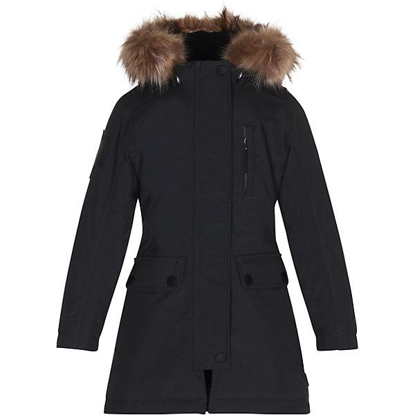 Куртка MOLO для девочкиВерхняя одежда<br>Характеристики товара:<br><br>• цвет: черный<br>• состав ткани: 100% полиамид<br>• подкладка: 100% полиэстер<br>• утеплитель: 100% полиэстер <br>• сезон: зима<br>• температурный режим: от -25 до 0<br>• особенности модели: с капюшоном<br>• водонепроницаемость: 10000 мм <br>• паропроницаемость: 8000 г/м2<br>• застежка: молния, кнопка<br>• капюшон: с мехом<br>• страна бренда: Дания<br>• страна изготовитель: Китай<br><br>Зимняя детская куртка стильно выглядит. Эта удлиненная куртка отличается легким наполнителем, который обеспечивает комфортную температуру в мороз. Практичная куртка для детей Molo не промокает и не продувается ветром. <br><br>Куртку Molo (Моло) можно купить в нашем интернет-магазине.<br>Ширина мм: 356; Глубина мм: 10; Высота мм: 245; Вес г: 519; Цвет: черный; Возраст от месяцев: 84; Возраст до месяцев: 96; Пол: Женский; Возраст: Детский; Размер: 128,176,164,152,146,140,134; SKU: 6994936;