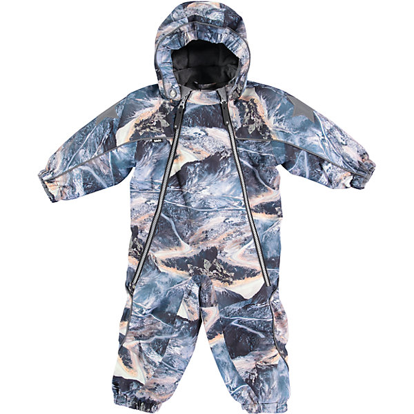 Комбинезон MOLO для мальчикаВерхняя одежда<br>Характеристики товара:<br><br>• цвет: синий<br>• состав ткани: 100% нейлон<br>• подкладка: 100% полиэстер, флис<br>• утеплитель: Thinsulate<br>• сезон: зима<br>• температурный режим: от -20 до 0<br>• особенности модели: с капюшоном<br>• водонепроницаемость: 10000 мм <br>• паропроницаемость: 8000 г/м2<br>• застежка: молнии<br>• капюшон: без меха, съемный<br>• штрипки <br>• страна бренда: Дания<br>• страна изготовитель: Китай<br><br>Материал комбинезона для детей Molo не пропускает влагу и ветер, позволяя при этом телу дышать. Этот теплый комбинезон для ребенка дополнен удобным капюшоном. Детский комбинезон сделан из легких инновационных материалов. <br><br>Комбинезон для мальчика Molo (Моло) можно купить в нашем интернет-магазине.<br><br>Ширина мм: 215<br>Глубина мм: 88<br>Высота мм: 191<br>Вес г: 336<br>Цвет: белый<br>Возраст от месяцев: 12<br>Возраст до месяцев: 15<br>Пол: Мужской<br>Возраст: Детский<br>Размер: 80,98,92,86<br>SKU: 6994987