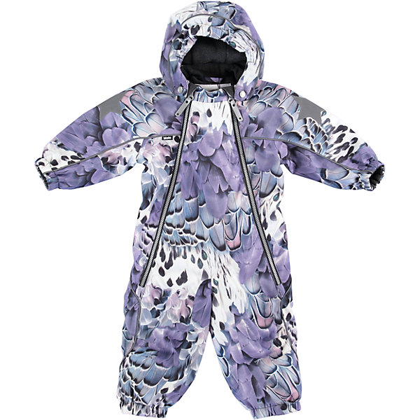 Комбинезон MOLO для девочкиВерхняя одежда<br>Характеристики товара:<br><br>• цвет: сиреневый <br>• состав ткани: 100% полиэстер<br>• подкладка: 100% полиэстер, флис<br>• утеплитель: Thinsulate<br>• сезон: зима<br>• температурный режим: от -20 до 0<br>• особенности модели: с капюшоном<br>• водонепроницаемость: 10000 мм <br>• паропроницаемость: 8000 г/м2<br>• застежка: молнии<br>• капюшон: без меха, съемный<br>• штрипки: съемные<br>• страна бренда: Дания<br>• страна изготовитель: Китай<br><br>Инновационный материал комбинезона для детей Molo не пропускает влагу и ветер, позволяя при этом телу дышать. Этот теплый комбинезон для ребенка дополнен удобным капюшоном и штрипками. Детский комбинезон сделан из легких инновационных материалов. <br><br>Комбинезон для девочки Molo (Моло) можно купить в нашем интернет-магазине.<br><br>Ширина мм: 215<br>Глубина мм: 88<br>Высота мм: 191<br>Вес г: 336<br>Цвет: белый<br>Возраст от месяцев: 12<br>Возраст до месяцев: 15<br>Пол: Женский<br>Возраст: Детский<br>Размер: 80,98,92,86<br>SKU: 6995002