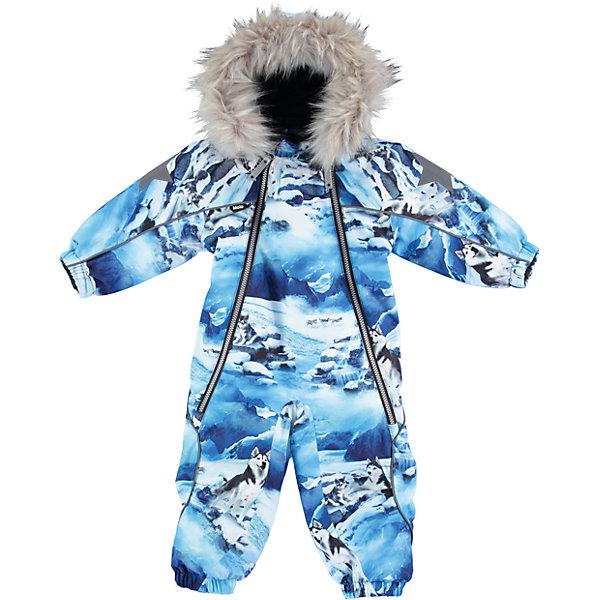 Комбинезон MOLO для мальчикаВерхняя одежда<br>Характеристики товара:<br><br>• цвет: голубой <br>• состав ткани: 100% полиэстер<br>• подкладка: 100% полиэстер, флис<br>• утеплитель: Thinsulate<br>• сезон: зима<br>• температурный режим: от -20 до 0<br>• особенности модели: с капюшоном<br>• водонепроницаемость: 10000 мм <br>• паропроницаемость: 8000 г/м2<br>• застежка: молнии<br>• капюшон: с мехам, съемный<br>• штрипки: съемные<br>• страна бренда: Дания<br>• страна изготовитель: Китай<br><br>Прочный и легкий материал комбинезона для детей Molo не пропускает влагу и ветер, позволяя при этом телу дышать. Этот теплый комбинезон для ребенка дополнен удобным капюшоном и штрипками. Детский комбинезон сделан из легких инновационных материалов, позволяющих телу дышать и защищающих от непогоды. <br><br>Комбинезон для мальчика Molo (Моло) можно купить в нашем интернет-магазине.<br>Ширина мм: 215; Глубина мм: 88; Высота мм: 191; Вес г: 336; Цвет: голубой; Возраст от месяцев: 12; Возраст до месяцев: 15; Пол: Мужской; Возраст: Детский; Размер: 80,92,86; SKU: 6995017;