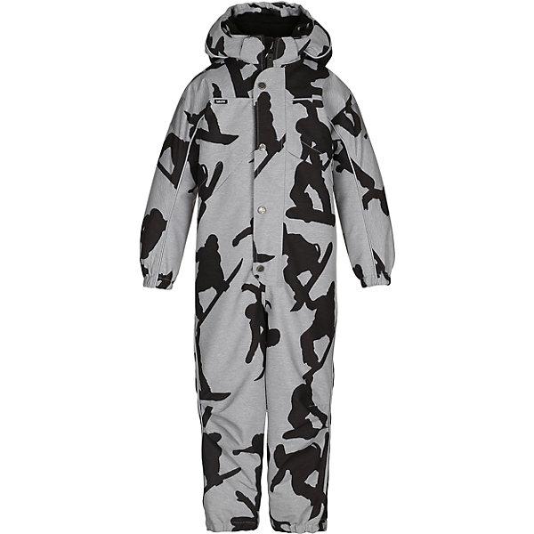 Комбинезон MOLO для мальчикаВерхняя одежда<br>Зимний комбинезон Molo <br>• состав: 100% нейлон, 100% полиэстер<br>• температурный режим: 0° до -25° градусов<br>• утеплитель:  ThinsulateTM  прекрасно сохраняющий тепло,  позволяет телу дышать и остается при этом сухим и легким<br>• водонепроницаемость: 10 000 мм<br>• отвод влаги: 8 000 г/м2/24ч<br>• основные швы проклеены<br>• съёмный капюшон<br>• удобные молнии<br>• «дышащий» материал<br>• ветро- водо- и грязеотталкивающий материал<br>• ветрозащитная планка<br>• комфортная посадка<br>• прочные съёмные силиконовые штрипки<br>• страна производства: Китай<br>• страна бренда: Дания <br> Фантастический и причудливый датский бренд Molo это самый актуальный и стильный дизайн в детской одежде для маленьких модников.<br>Ширина мм: 215; Глубина мм: 88; Высота мм: 191; Вес г: 336; Цвет: белый; Возраст от месяцев: 36; Возраст до месяцев: 48; Пол: Мужской; Возраст: Детский; Размер: 104,140,110,128,122,116; SKU: 6995026;