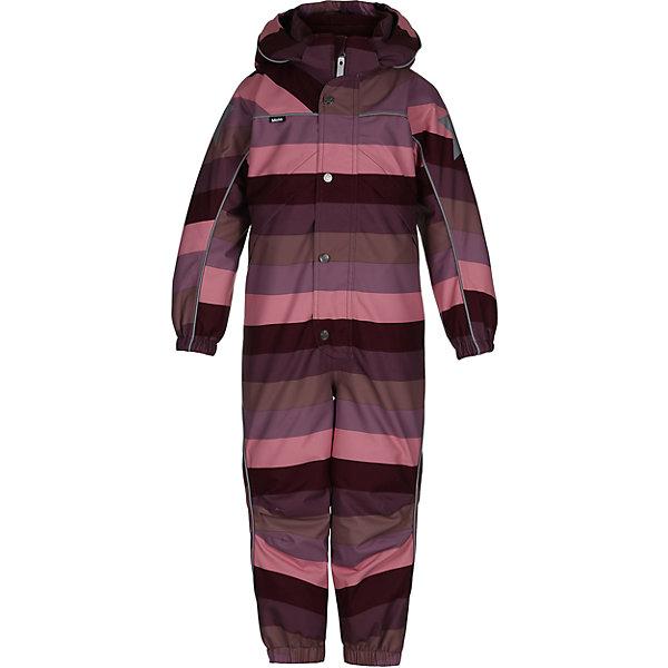 Комбинезон MOLO для девочкиВерхняя одежда<br>Зимний комбинезон Molo <br>• состав: 100% нейлон, 100% полиэстер<br>• температурный режим: 0° до -25° градусов<br>• утеплитель:  ThinsulateTM  прекрасно сохраняющий тепло,  позволяет телу дышать и остается при этом сухим и легким<br>• водонепроницаемость: 10 000 мм<br>• отвод влаги: 8 000 г/м2/24ч<br>• основные швы проклеены<br>• съёмный капюшон<br>• удобные молнии<br>• «дышащий» материал<br>• ветро- водо- и грязеотталкивающий материал<br>• ветрозащитная планка<br>• комфортная посадка<br>• прочные съёмные силиконовые штрипки<br>• страна производства: Китай<br>• страна бренда: Дания <br> Фантастический и причудливый датский бренд Molo это самый актуальный и стильный дизайн в детской одежде для маленьких модников.<br>Ширина мм: 215; Глубина мм: 88; Высота мм: 191; Вес г: 336; Цвет: белый; Возраст от месяцев: 36; Возраст до месяцев: 48; Пол: Женский; Возраст: Детский; Размер: 104,128,122,116,110; SKU: 6995039;