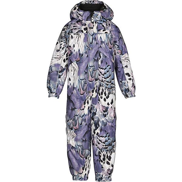 Комбинезон MOLO для девочкиВерхняя одежда<br>Зимний комбинезон Molo <br>• состав: 100% нейлон, 100% полиэстер<br>• температурный режим: 0° до -25° градусов<br>• утеплитель:  ThinsulateTM  прекрасно сохраняющий тепло,  позволяет телу дышать и остается при этом сухим и легким<br>• водонепроницаемость: 10 000 мм<br>• отвод влаги: 8 000 г/м2/24ч<br>• основные швы проклеены<br>• съёмный капюшон<br>• удобные молнии<br>• «дышащий» материал<br>• ветро- водо- и грязеотталкивающий материал<br>• ветрозащитная планка<br>• комфортная посадка<br>• прочные съёмные силиконовые штрипки<br>• страна производства: Китай<br>• страна бренда: Дания <br> Фантастический и причудливый датский бренд Molo это самый актуальный и стильный дизайн в детской одежде для маленьких модников.<br>Ширина мм: 215; Глубина мм: 88; Высота мм: 191; Вес г: 336; Цвет: белый; Возраст от месяцев: 48; Возраст до месяцев: 60; Пол: Женский; Возраст: Детский; Размер: 104,140,128,122,116,110; SKU: 6995045;