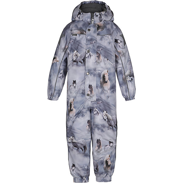 Комбинезон MOLO для девочкиВерхняя одежда<br>Зимний комбинезон Molo <br>• состав: 100% нейлон, 100% полиэстер<br>• температурный режим: 0° до -25° градусов<br>• утеплитель:  ThinsulateTM  прекрасно сохраняющий тепло,  позволяет телу дышать и остается при этом сухим и легким<br>• водонепроницаемость: 10 000 мм<br>• отвод влаги: 8 000 г/м2/24ч<br>• основные швы проклеены<br>• съёмный капюшон<br>• удобные молнии<br>• «дышащий» материал<br>• ветро- водо- и грязеотталкивающий материал<br>• ветрозащитная планка<br>• комфортная посадка<br>• прочные съёмные силиконовые штрипки<br>• страна производства: Китай<br>• страна бренда: Дания <br> Фантастический и причудливый датский бренд Molo это самый актуальный и стильный дизайн в детской одежде для маленьких модников.<br><br>Ширина мм: 215<br>Глубина мм: 88<br>Высота мм: 191<br>Вес г: 336<br>Цвет: белый<br>Возраст от месяцев: 60<br>Возраст до месяцев: 72<br>Пол: Женский<br>Возраст: Детский<br>Размер: 116,104,128,122,110<br>SKU: 6995052