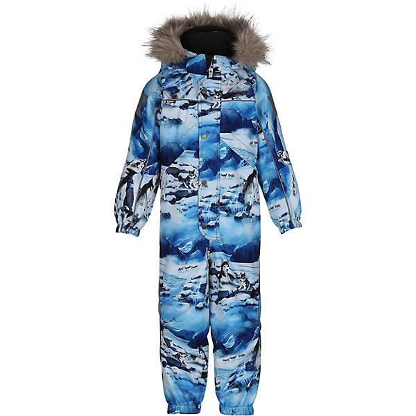 Комбинезон MOLO для мальчикаВерхняя одежда<br>Зимний комбинезон Molo <br>• состав: 100% нейлон, 100% полиэстер<br>• температурный режим: 0° до -25° градусов<br>• утеплитель:  ThinsulateTM  прекрасно сохраняющий тепло,  позволяет телу дышать и остается при этом сухим и легким<br>• водонепроницаемость: 10 000 мм<br>• отвод влаги: 8 000 г/м2/24ч<br>• основные швы проклеены<br>• съёмный капюшон<br>• удобные молнии<br>• «дышащий» материал<br>• ветро- водо- и грязеотталкивающий материал<br>• ветрозащитная планка<br>• комфортная посадка<br>• прочные съёмные силиконовые штрипки<br>• страна производства: Китай<br>• страна бренда: Дания <br> Фантастический и причудливый датский бренд Molo это самый актуальный и стильный дизайн в детской одежде для маленьких модников.<br><br>Ширина мм: 215<br>Глубина мм: 88<br>Высота мм: 191<br>Вес г: 336<br>Цвет: белый<br>Возраст от месяцев: 36<br>Возраст до месяцев: 48<br>Пол: Мужской<br>Возраст: Детский<br>Размер: 104,122,116,110<br>SKU: 6995064