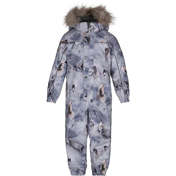 Комбинезон MOLO для девочкиВерхняя одежда<br>Зимний комбинезон Molo <br>• состав: 100% нейлон, 100% полиэстер<br>• температурный режим: 0° до -25° градусов<br>• утеплитель:  ThinsulateTM  прекрасно сохраняющий тепло,  позволяет телу дышать и остается при этом сухим и легким<br>• водонепроницаемость: 10 000 мм<br>• отвод влаги: 8 000 г/м2/24ч<br>• основные швы проклеены<br>• съёмный капюшон<br>• удобные молнии<br>• «дышащий» материал<br>• ветро- водо- и грязеотталкивающий материал<br>• ветрозащитная планка<br>• комфортная посадка<br>• прочные съёмные силиконовые штрипки<br>• страна производства: Китай<br>• страна бренда: Дания <br> Фантастический и причудливый датский бренд Molo это самый актуальный и стильный дизайн в детской одежде для маленьких модников.<br><br>Ширина мм: 215<br>Глубина мм: 88<br>Высота мм: 191<br>Вес г: 336<br>Цвет: белый<br>Возраст от месяцев: 84<br>Возраст до месяцев: 96<br>Пол: Женский<br>Возраст: Детский<br>Размер: 104,110,116,122,128<br>SKU: 6995069