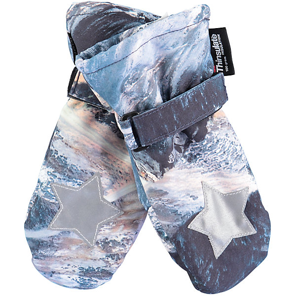 Варежки MOLO для мальчикаПерчатки, варежки<br>Характеристики товара:<br><br>• цвет: серый<br>• состав ткани: 100% полиэстер<br>• подкладка: 100% полиэстер, флис<br>• утеплитель: Thinsulate<br>• сезон: зима<br>• температурный режим: от -15 до +5<br>• застежка: липучка<br>• страна бренда: Дания<br>• страна изготовитель: Китай<br><br>Такие детские теплые варежки сделаны из качественного материала -он не пропускает воду и ветер. Детские варежки созданы для защиты от холода и сырости. Варежки для ребенка дополнены удобной липучкой. Такие варежки для детей отличаются модным дизайном. <br><br>Варежки Molo (Моло) для мальчика можно купить в нашем интернет-магазине.<br>Ширина мм: 162; Глубина мм: 171; Высота мм: 55; Вес г: 119; Цвет: белый; Возраст от месяцев: 36; Возраст до месяцев: 60; Пол: Мужской; Возраст: Детский; Размер: 3,5; SKU: 6995097;