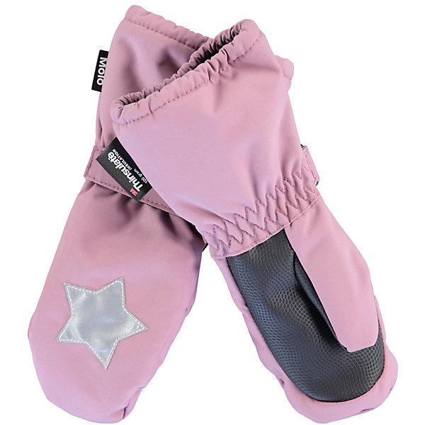 Варежки MOLO для девочкиПерчатки, варежки<br>Характеристики товара:<br><br>• цвет: розовый<br>• состав ткани: 100% полиэстер<br>• подкладка: 100% полиэстер, флис<br>• утеплитель: Thinsulate<br>• сезон: зима<br>• температурный режим: от -15 до +5<br>• застежка: до размера 2 - молния, с размера 3 - липучка<br>• страна бренда: Дания<br>• страна изготовитель: Китай<br><br>Розовые зимние варежки для детей декорированы светоотражающим элементом в виде фирменной звезды бренда Molo. Детские теплые варежки сделаны из инновационного материала, позволяющего коже дышать. Варежки для ребенка дополнены удобной липучкой. <br><br>Варежки Molo (Моло) для девочки можно купить в нашем интернет-магазине.<br>Ширина мм: 162; Глубина мм: 171; Высота мм: 55; Вес г: 119; Цвет: лиловый; Возраст от месяцев: 12; Возраст до месяцев: 24; Пол: Женский; Возраст: Детский; Размер: 2,3; SKU: 6995118;