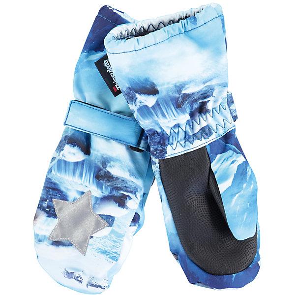 Варежки MOLO для мальчикаПерчатки, варежки<br>Характеристики товара:<br><br>• цвет: голубой<br>• состав ткани: 100% полиэстер<br>• подкладка: 100% полиэстер, флис<br>• утеплитель: Thinsulate<br>• сезон: зима<br>• температурный режим: от -15 до +5<br>• застежка: до размера 2 - молния, с размера 3 - липучка<br>• страна бренда: Дания<br>• страна изготовитель: Китай<br><br>Зимние детские варежки выполнены в красивой модной расцветке. Детские теплые варежки сделаны из качественного материала -он не пропускает воду и ветер. <br><br>До размера 2 варежки дополнены молнией. С размера 3 варежки для ребенка дополнены удобной липучкой. Такие варежки для детей отличаются продуманным дизайном. <br><br>Варежки Molo (Моло) для мальчика можно купить в нашем интернет-магазине.<br><br>Ширина мм: 162<br>Глубина мм: 171<br>Высота мм: 55<br>Вес г: 119<br>Цвет: белый<br>Возраст от месяцев: 48<br>Возраст до месяцев: 60<br>Пол: Мужской<br>Возраст: Детский<br>Размер: 2,5,3<br>SKU: 6995121