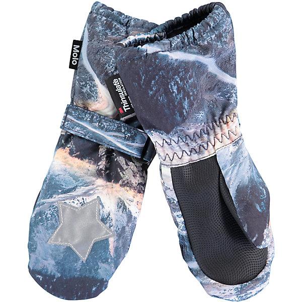 Варежки MOLO для мальчикаПерчатки, варежки<br>Характеристики товара:<br><br>• цвет: серый<br>• состав ткани: 100% полиэстер<br>• подкладка: 100% полиэстер, флис<br>• утеплитель: Thinsulate<br>• сезон: зима<br>• температурный режим: от -15 до +5<br>• застежка: до размера 2 - молния, с размера 3 - липучка<br>• страна бренда: Дания<br>• страна изготовитель: Китай<br><br>Стильные детские теплые варежки декорированы оригинальным принтом. Эти варежки для детей сделаны из качественного материала -он не пропускает воду и ветер. До размера 2 варежки дополнены молнией. С размера 3 варежки для ребенка дополнены удобной липучкой. Такие варежки для детей отличаются модным дизайном. <br><br>Варежки Molo (Моло) для мальчика можно купить в нашем интернет-магазине.<br>Ширина мм: 162; Глубина мм: 171; Высота мм: 55; Вес г: 119; Цвет: белый; Возраст от месяцев: 12; Возраст до месяцев: 24; Пол: Мужской; Возраст: Детский; Размер: 2,5,3; SKU: 6995125;
