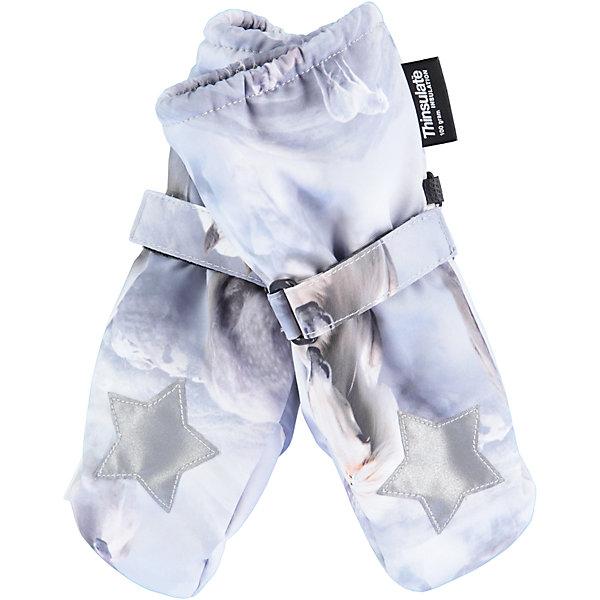 Варежки MOLO для девочкиВарежки<br>Характеристики товара:<br><br>• цвет: белый<br>• состав ткани: 100% полиэстер<br>• подкладка: 100% полиэстер, флис<br>• утеплитель: Thinsulate<br>• сезон: зима<br>• температурный режим: от -15 до +5<br>• застежка: до размера 2 - молния, с размера 3 - липучка<br>• страна бренда: Дания<br>• страна изготовитель: Китай<br><br>Оригинальные зимние детские варежки выполнены в красивой модной расцветке. Детские теплые варежки сделаны из качественного материала -он не пропускает воду и ветер. <br><br>До размера 2 варежки дополнены молнией. С размера 3 варежки для ребенка дополнены удобной липучкой. Такие варежки для детей отличаются продуманным дизайном. <br><br>Варежки Molo (Моло) для девочки можно купить в нашем интернет-магазине.<br>Ширина мм: 162; Глубина мм: 171; Высота мм: 55; Вес г: 119; Цвет: белый; Возраст от месяцев: 36; Возраст до месяцев: 60; Пол: Женский; Возраст: Детский; Размер: 3,2,5; SKU: 6995145;