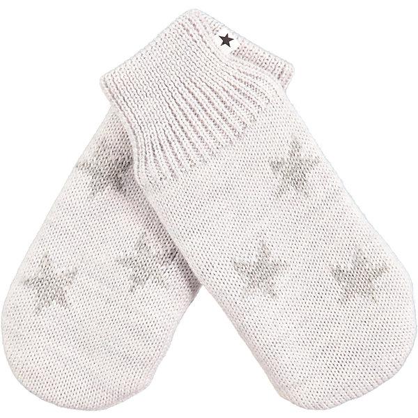 Варежки MOLOПерчатки, варежки<br>Характеристики товара:<br><br>• цвет: бежевый<br>• состав ткани: 50% шерсть, 50% акрил<br>• сезон: зима<br>• температурный режим: от -10 до +10<br>• страна бренда: Дания<br>• страна изготовитель: Китай<br><br>Теплые варежки для ребенка плотно держатся на руке благодаря удобной резинке. Эти теплые варежки разработаны специально для детей. Простые в уходе варежки сделаны из качественного материала. Детские варежки обеспечат защиту от холода в межсезонье и небольшой мороз. <br><br>Варежки Molo (Моло) можно купить в нашем интернет-магазине.<br><br>Ширина мм: 162<br>Глубина мм: 171<br>Высота мм: 55<br>Вес г: 119<br>Цвет: светло-серый<br>Возраст от месяцев: 48<br>Возраст до месяцев: 60<br>Пол: Унисекс<br>Возраст: Детский<br>Размер: 2,6,5,3<br>SKU: 6995166