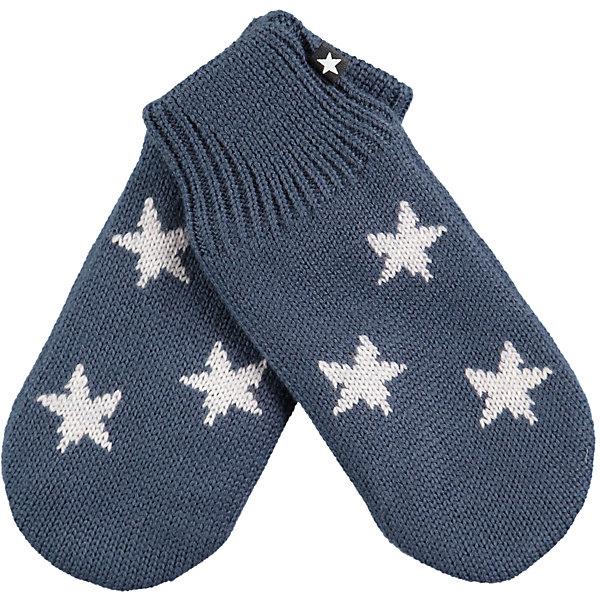 Варежки MOLO для мальчикаВерхняя одежда<br>Характеристики товара:<br><br>• цвет: синий<br>• состав ткани: 50% шерсть, 50% акрил<br>• сезон: зима<br>• температурный режим: от -10 до +10<br>• страна бренда: Дания<br>• страна изготовитель: Китай<br><br>Эти теплые варежки для ребенка плотно держатся на руке благодаря удобной резинке. Эти теплые варежки разработаны специально для детей. Простые в уходе варежки сделаны из качественного материала. Детские варежки обеспечат защиту от холода в межсезонье и небольшой мороз. <br><br>Варежки Molo (Моло) для мальчика можно купить в нашем интернет-магазине.<br><br>Ширина мм: 162<br>Глубина мм: 171<br>Высота мм: 55<br>Вес г: 119<br>Цвет: синий<br>Возраст от месяцев: 48<br>Возраст до месяцев: 60<br>Пол: Мужской<br>Возраст: Детский<br>Размер: 6,5,3,2<br>SKU: 6995194