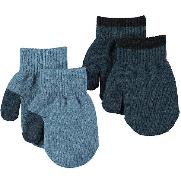 Варежки MOLO для мальчикаПерчатки, варежки<br>Характеристики товара:<br><br>• цвет: серый<br>• комплектация: 2 пары<br>• состав ткани: 83% акрил, 15% спандекс, 2% эластан<br>• утеплитель: нет<br>• сезон: демисезон<br>• температурный режим: от -10 до +10<br>• застежка: нет<br>• страна бренда: Дания<br>• страна изготовитель: Китай<br><br>Детские демисезонные варежки сделаны из качественного материала - плотного трикотажа. Детские варежки созданы для защиты от холода в холодное межсезонье. Детские теплые варежки не давят на руку благодаря мягкой резинке. Такие трикотажные варежки для ребенка отличаются модным дизайном. <br><br>Варежки для мальчика Molo (Моло) можно купить в нашем интернет-магазине.<br><br>Ширина мм: 162<br>Глубина мм: 171<br>Высота мм: 55<br>Вес г: 119<br>Цвет: голубой<br>Возраст от месяцев: 36<br>Возраст до месяцев: 120<br>Пол: Мужской<br>Возраст: Детский<br>Размер: one size<br>SKU: 6995214