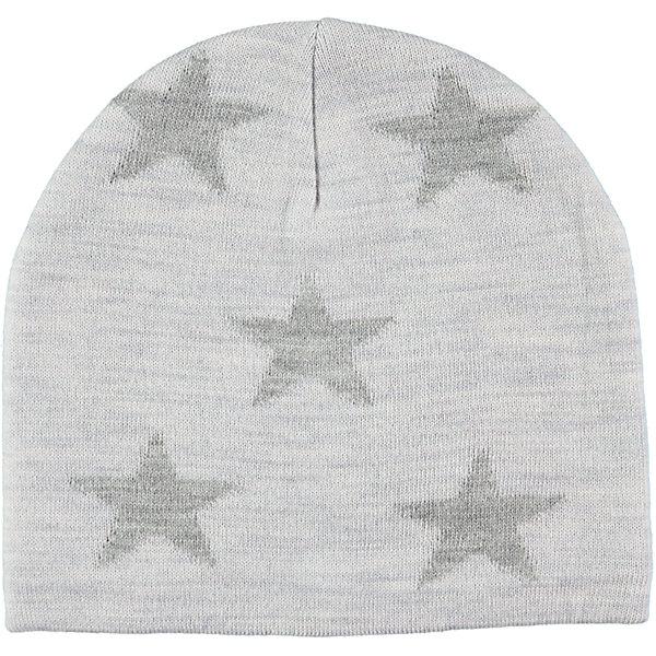 Шапка MOLOГоловные уборы<br>Характеристики товара:<br><br>• цвет: серый<br>• состав ткани: 50% шерсть, 50% акрил<br>• сезон: зима<br>• температурный режим: от -10 до +10<br>• страна бренда: Дания<br>• страна изготовитель: Китай<br><br>Практичная и модная шапка для ребенка удобно держится на голове благодаря плотной структуре материала. Эта теплая шапка разработана специально для детей. Простая в уходе шапка сделана из качественного материала. Детская шапка обеспечит защиту от холода в межсезонье и небольшой мороз. <br><br>Шапку Molo (Моло) можно купить в нашем интернет-магазине.<br><br>Ширина мм: 89<br>Глубина мм: 117<br>Высота мм: 44<br>Вес г: 155<br>Цвет: светло-серый<br>Возраст от месяцев: 36<br>Возраст до месяцев: 60<br>Пол: Унисекс<br>Возраст: Детский<br>Размер: 50-54,46-48,55-57,54-56<br>SKU: 6995249