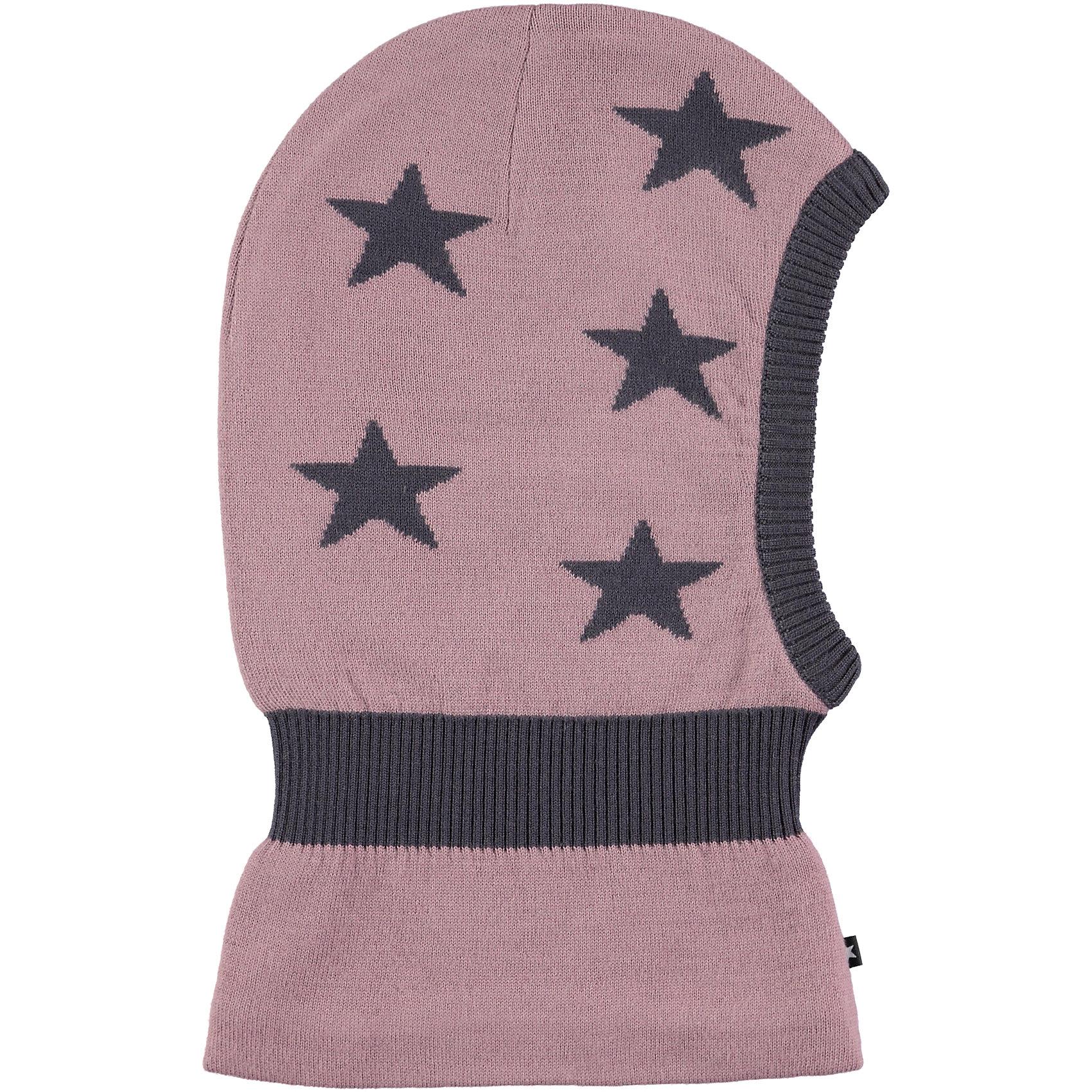 Шапка-шлем MOLO для девочкиГоловные уборы<br>Балаклава зимняя Molo отлично защищает от холода и ветра, изготовлена из высококачественных материалов не вызывающих аллергию, имеет дополнительный флисовый слой<br><br>Ширина мм: 89<br>Глубина мм: 117<br>Высота мм: 44<br>Вес г: 155<br>Цвет: лиловый<br>Возраст от месяцев: 72<br>Возраст до месяцев: 84<br>Пол: Женский<br>Возраст: Детский<br>Размер: 50-54,46-48<br>SKU: 6995323