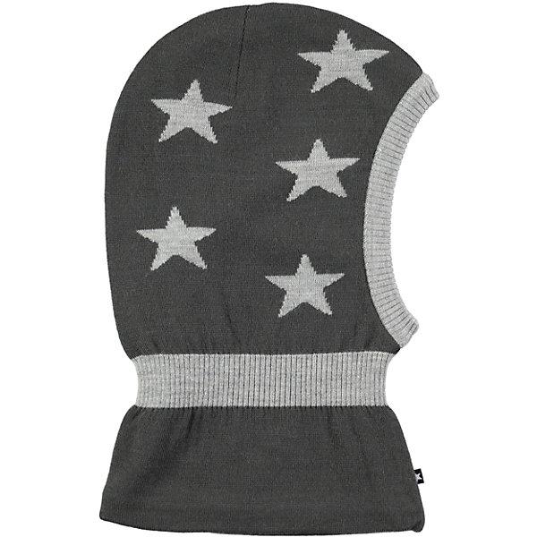 Шапка-шлем MOLOГоловные уборы<br>Характеристики товара:<br><br>• цвет: серый<br>• состав ткани: 50% шерсть, 50% акрил<br>• сезон: зима<br>• температурный режим: от -15 до +5<br>• страна бренда: Дания<br>• страна изготовитель: Китай<br><br>Практичная детская шапка-шлем легко стирается и долго служит. Стильная шапка-шлем для ребенка удобно держится на голове благодаря плотной структуре материала. Эта теплая шапка-шлем разработана специально для детей. Детская шапка-шлем обеспечит защиту от холодного воздуха. <br><br>Шапку-шлем Molo (Моло) можно купить в нашем интернет-магазине.<br><br>Ширина мм: 89<br>Глубина мм: 117<br>Высота мм: 44<br>Вес г: 155<br>Цвет: черный<br>Возраст от месяцев: 0<br>Возраст до месяцев: 3<br>Пол: Унисекс<br>Возраст: Детский<br>Размер: 54-56,46-48,50-54<br>SKU: 6995329