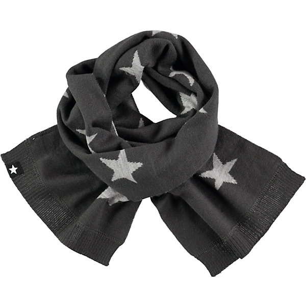 Шарф MOLOШарфы, платки<br>Характеристики товара:<br><br>• цвет: серый<br>• состав ткани: 50% шерсть, 50% акрил<br>• сезон: зима<br>• температурный режим: от -15 до +5<br>• страна бренда: Дания<br>• страна изготовитель: Китай<br><br>Стильный шарф для ребенка легко стирается и долго служит. Двусторонний детский шарф имеет дополнительный флисовый слой. Шарф для ребенка поможет дополнить наряд и обеспечить защиту от холода. Этот теплый шарф создан с учетом потребностей детей.<br><br>Шарф Molo (Моло) для девочки можно купить в нашем интернет-магазине.<br>Ширина мм: 88; Глубина мм: 155; Высота мм: 26; Вес г: 106; Цвет: белый; Возраст от месяцев: 60; Возраст до месяцев: 168; Пол: Женский; Возраст: Детский; Размер: one size; SKU: 6995341;