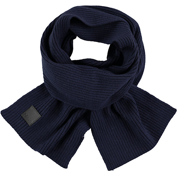 Шарф MOLO для девочкиШарфы, платки<br>Характеристики товара:<br><br>• цвет: синий<br>• состав ткани: 100% шерсть<br>• сезон: зима<br>• температурный режим: от -15 до +5<br>• страна бренда: Дания<br>• страна изготовитель: Китай<br><br>Практичный детский шарф сделан из мягкой шерсти. Шарф для ребенка поможет дополнить наряд и обеспечить защиту от холода. Этот теплый шарф создан с учетом потребностей детей. <br><br>Шарф Molo (Моло) для девочки можно купить в нашем интернет-магазине.<br><br>Ширина мм: 88<br>Глубина мм: 155<br>Высота мм: 26<br>Вес г: 106<br>Цвет: белый<br>Возраст от месяцев: 60<br>Возраст до месяцев: 168<br>Пол: Женский<br>Возраст: Детский<br>Размер: one size<br>SKU: 6995349