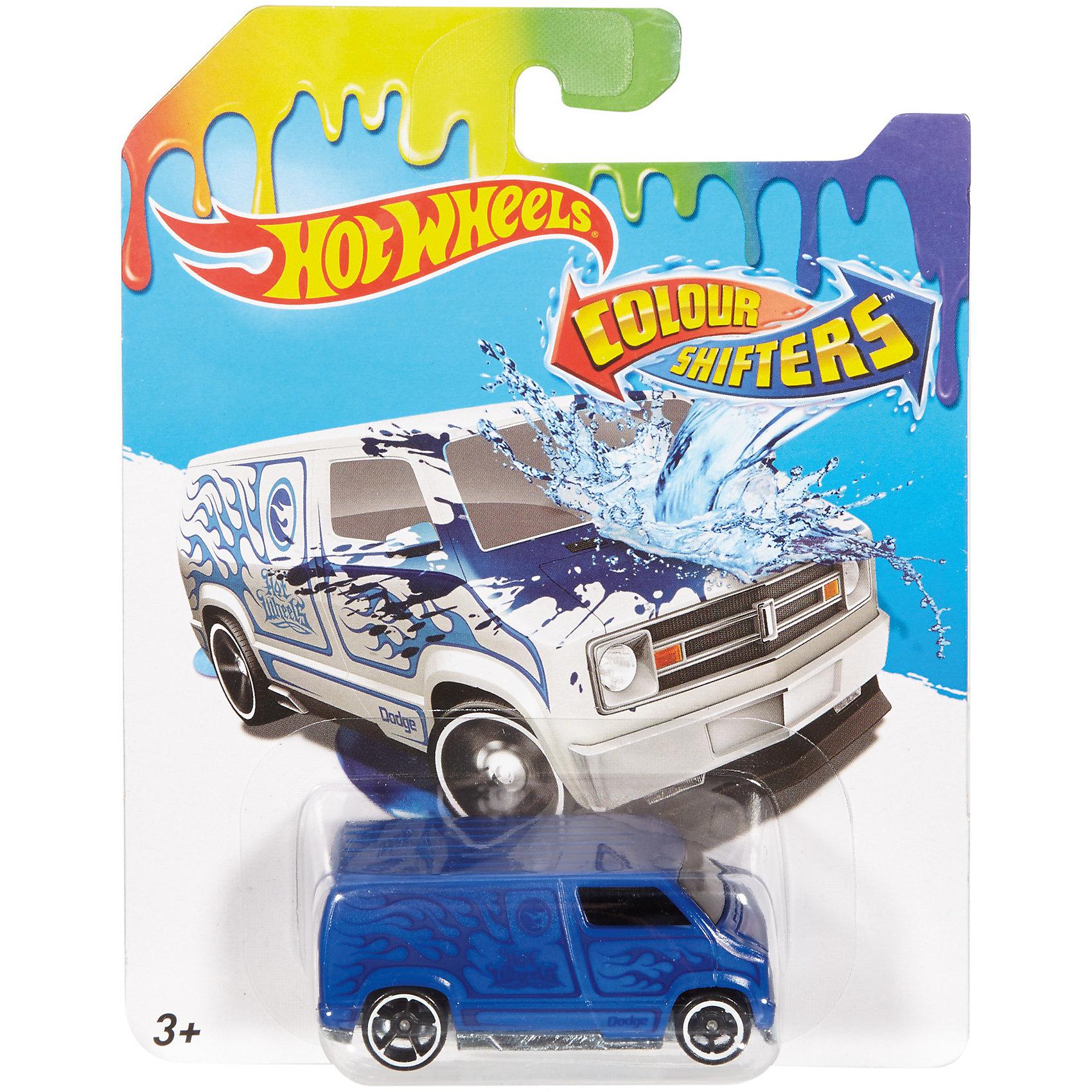 Меняющая цвет машинка COLOR SHIFTERS, Hot WheelsПопулярные игрушки<br><br><br>Ширина мм: 166<br>Глубина мм: 126<br>Высота мм: 32<br>Вес г: 47<br>Возраст от месяцев: 36<br>Возраст до месяцев: 84<br>Пол: Мужской<br>Возраст: Детский<br>SKU: 6996456