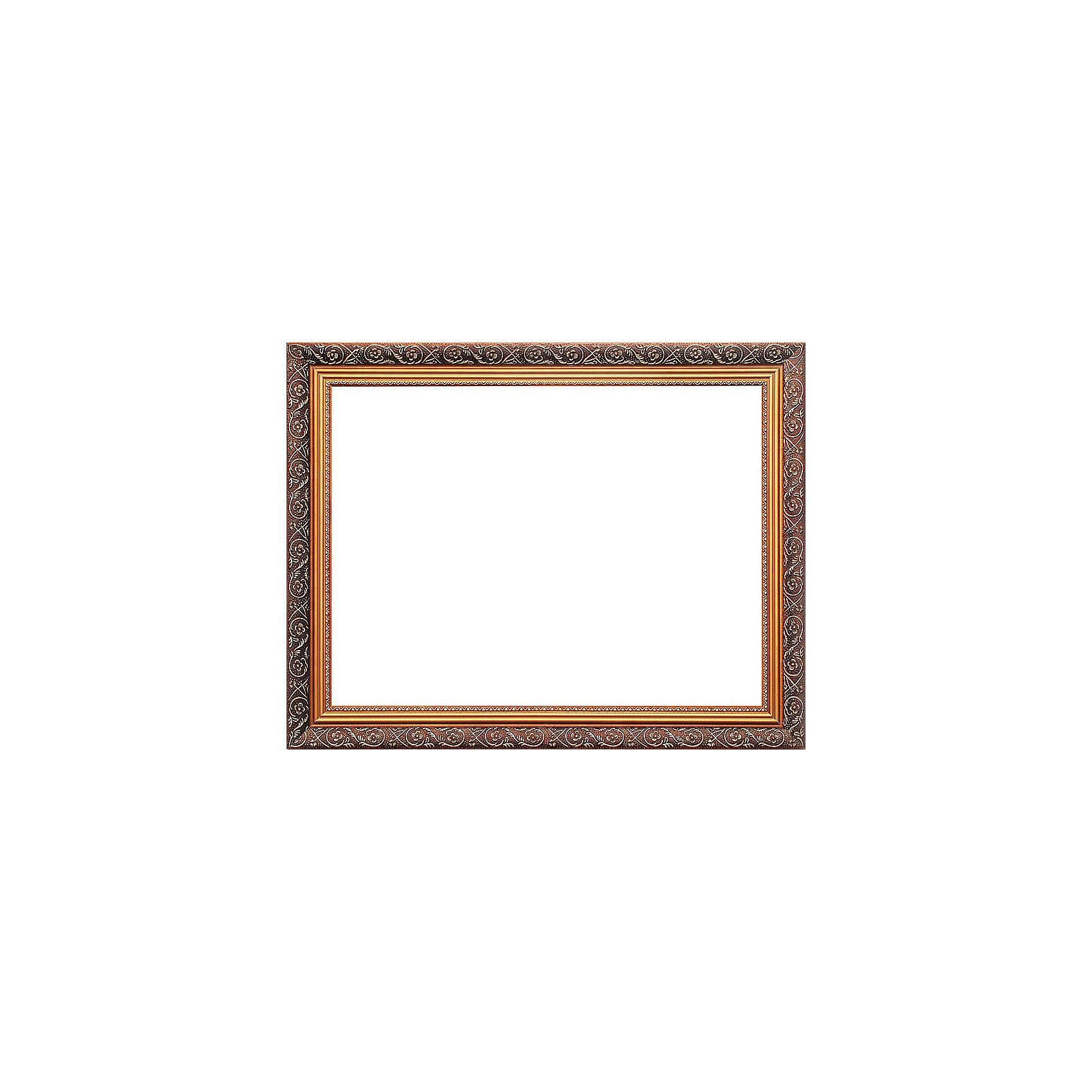 Багетная рама для картин 30х40см 1020-BL Isabelle (золотой) БелоснежкаАксессуары для творчества<br>Характеристики товара:<br><br>• возраст: от 12 лет;<br>• материал: дерево, пластик;<br>• размер для картин: 30х40х2 см.;<br>• цвет: коричневый с золотым орнаментом;<br>• сечение: 2х4 см;<br>• вес: 980 гр.;<br>• бренд: Белоснежка;<br>• страна бренда: Россия;<br>• страна производства: Китай.<br>                                                                                                                                                                                                                                                                                                                       Багетная рама «1020-BL Isabelle (золотой)» - предназначена для оформления картин, вышивок и фотографий. Оформленное изделие всегда становится более выразительным и гармоничным и придает красивый законченный вид вашей работе. От подбора багета зависит как картина будет выглядеть на стене, станет ярким акцентом или оттенит существующий интерьер                             <br><br>Комплектация:<br>• багетная рама; <br>• крепление на раму - 2 шт;<br>• дополнительный держатель для холста;<br>• подложка из оргалита;<br>• инструкция.<br><br>Инструкция по использованию:<br>• снимите внешнюю упаковку;<br>• сзади на раме отогните металлические крепления и выньте оргалитовый лист-заглушку;<br>• вставьте готовую картину в раму.<br> <br>Внимание: при установке в раму картин на холсте следует учесть, что толщина подрамника больше толщины рамы и сзади будет выступать, рекомендуем дополнительно зафиксировать картину клеем, лист-заглушку в этом случае не вставляют.     <br><br>Багетная рама «1020-BL Isabelle (золотой)»,30х40 см, Белоснежка  можно купить в нашем интернет-магазине.<br><br>Ширина мм: 339<br>Глубина мм: 439<br>Высота мм: 21<br>Вес г: 975<br>Возраст от месяцев: 72<br>Возраст до месяцев: 2147483647<br>Пол: Унисекс<br>Возраст: Детский<br>SKU: 6997979